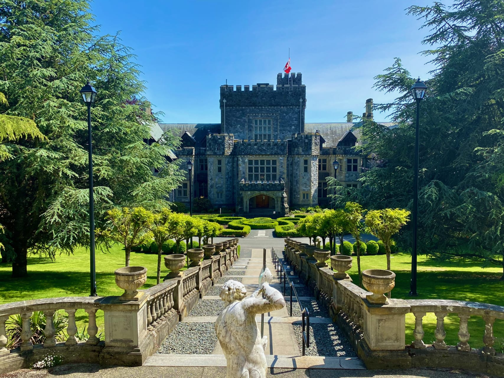 Victoria, BC - Enchanting Royal Roads and Castle in a Forest, by the Sea