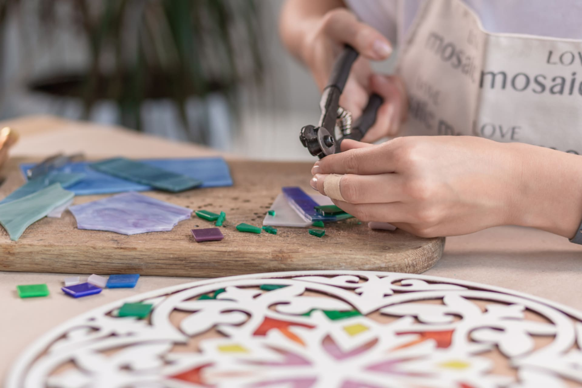 Ravenna - The art of making mosaics - visit to a mosaic workshop and artist's atelier in Ravenna, the Capital of Mosaics.