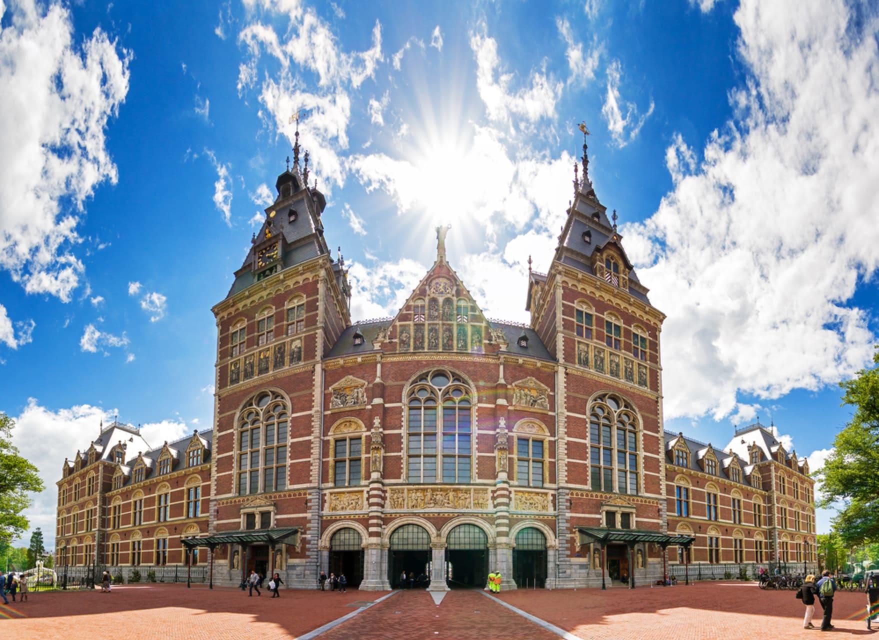 Amsterdam - Around Rijksmuseum, Netherland's National Museum