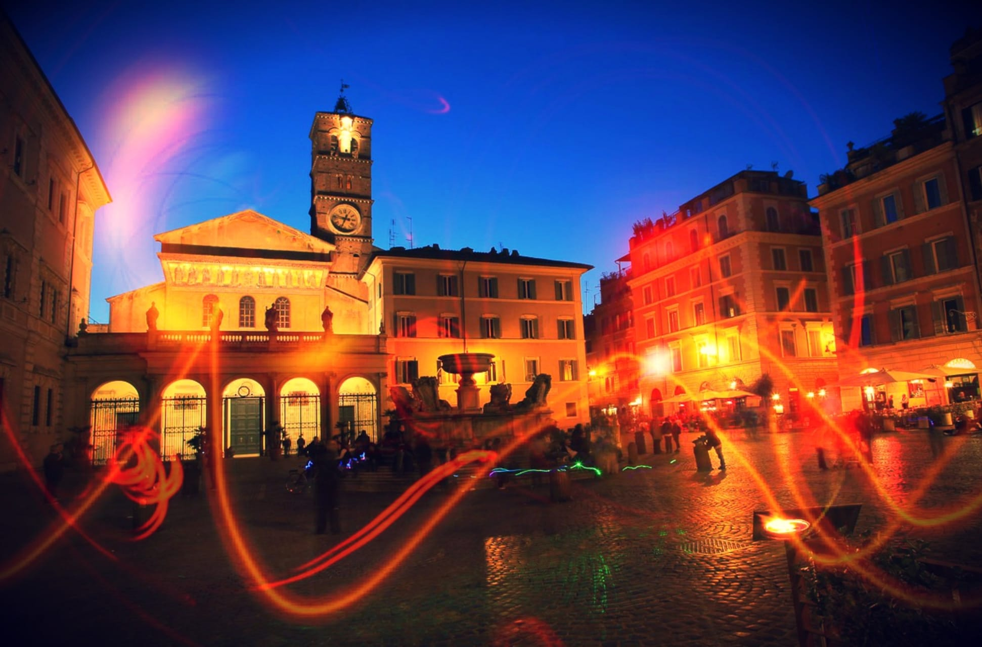 Rome - Rome - A night out in Trastevere!