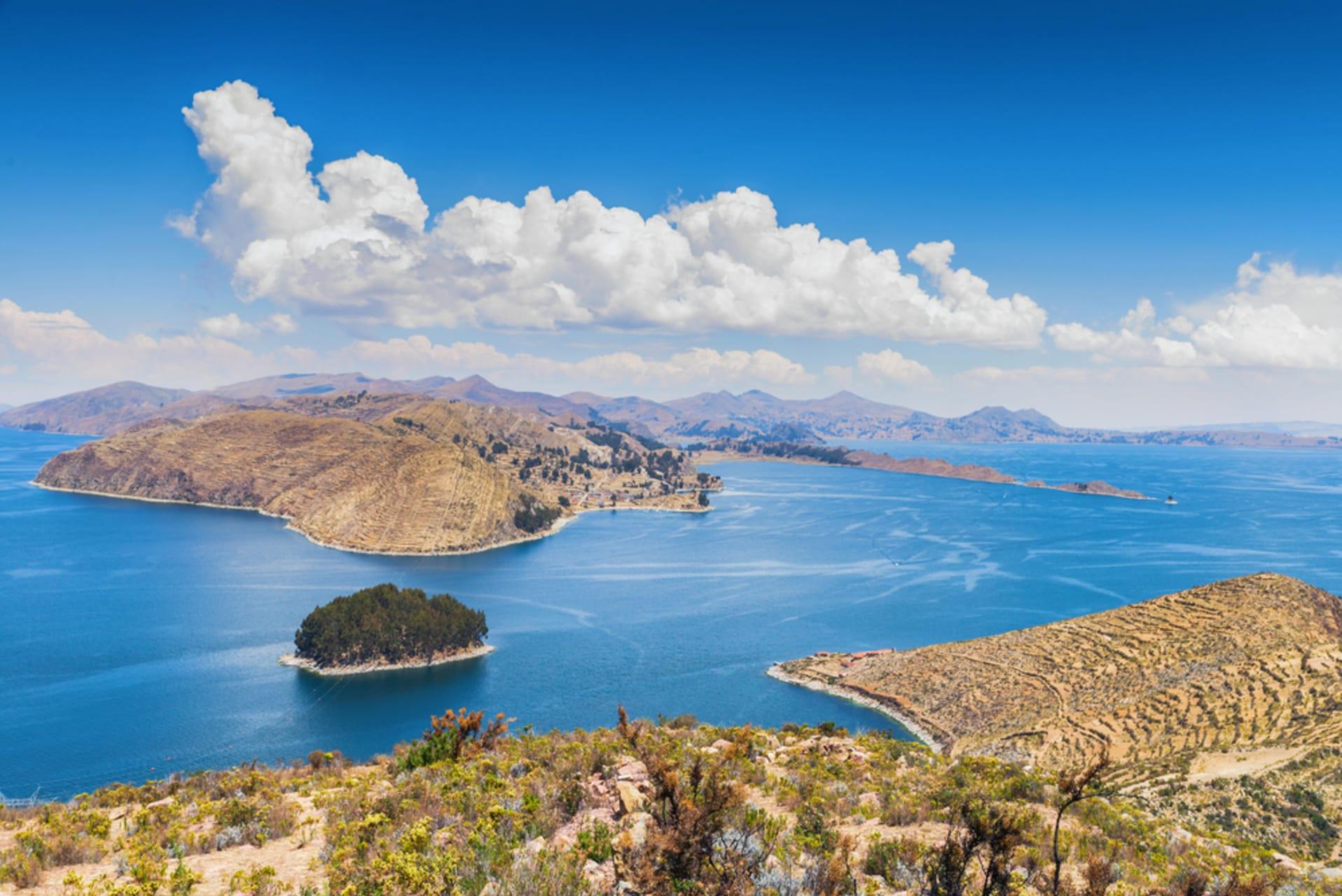 Lake Titicaca - Bolivia - Lake Titicaca: The Highest Navigable Lake in the World