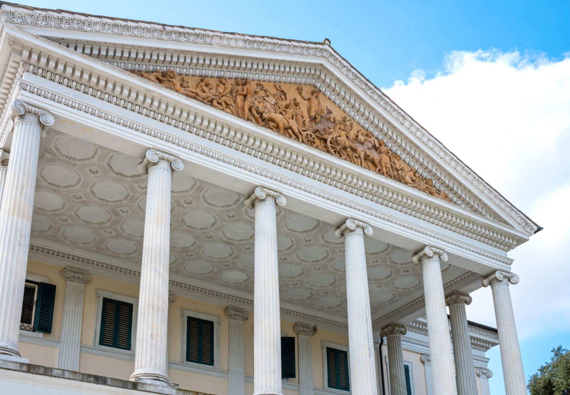 Rome - Villa Torlonia, Mussolini's house