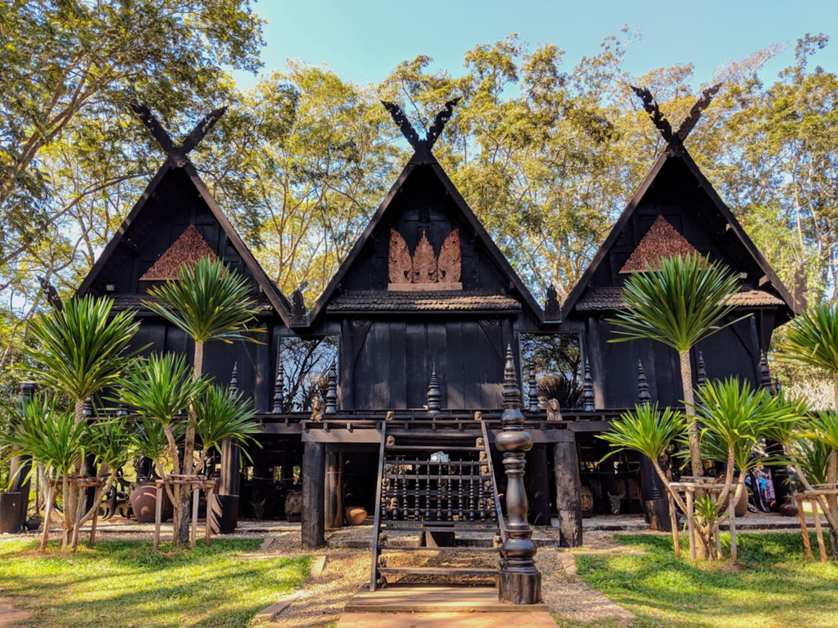 Chiang Rai - Black House of Chiang Rai (Baan Dam)