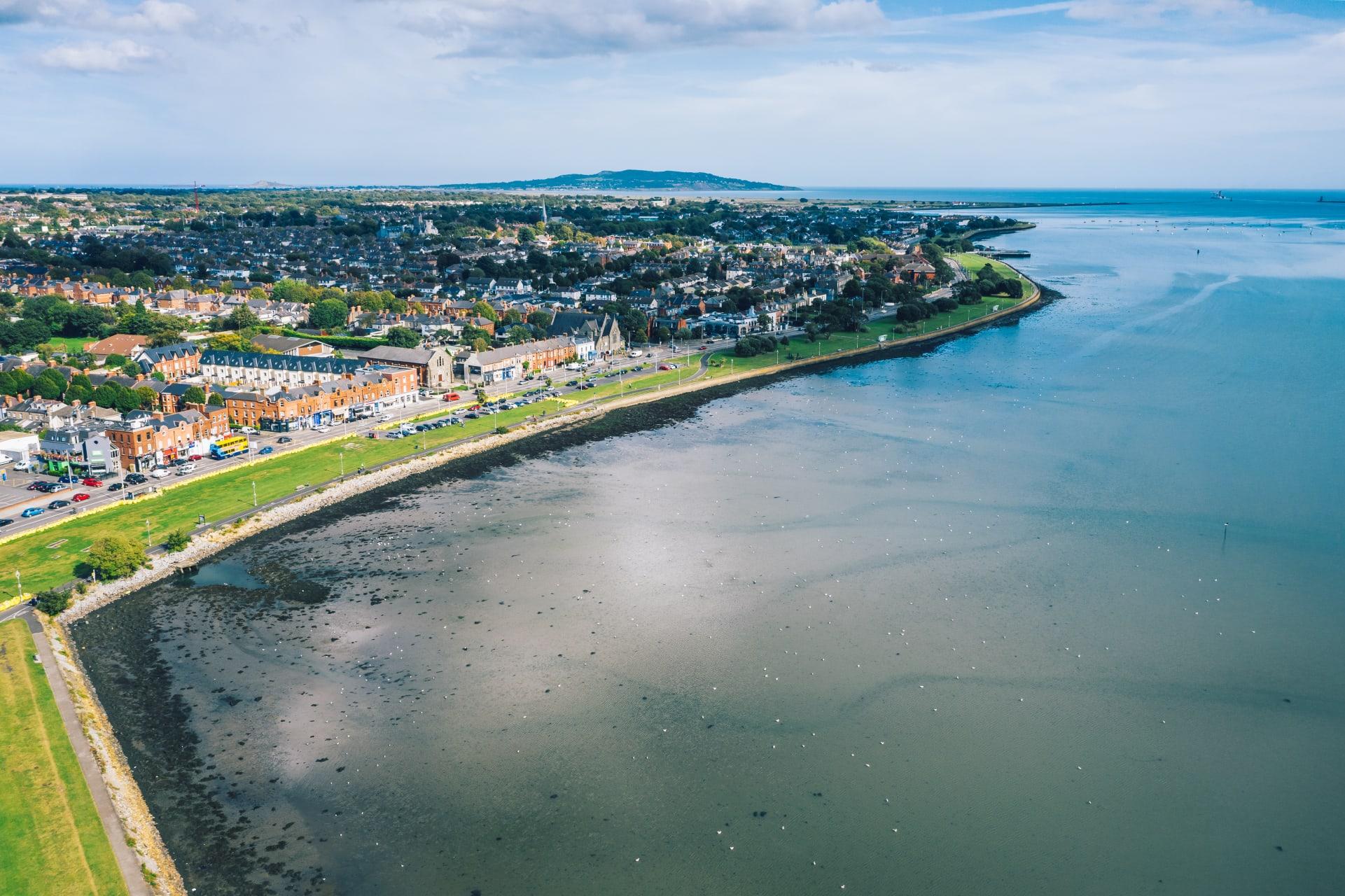 Dublin - Clontarf - A Quaint Neighbourhood Situated Along Dublin Bay