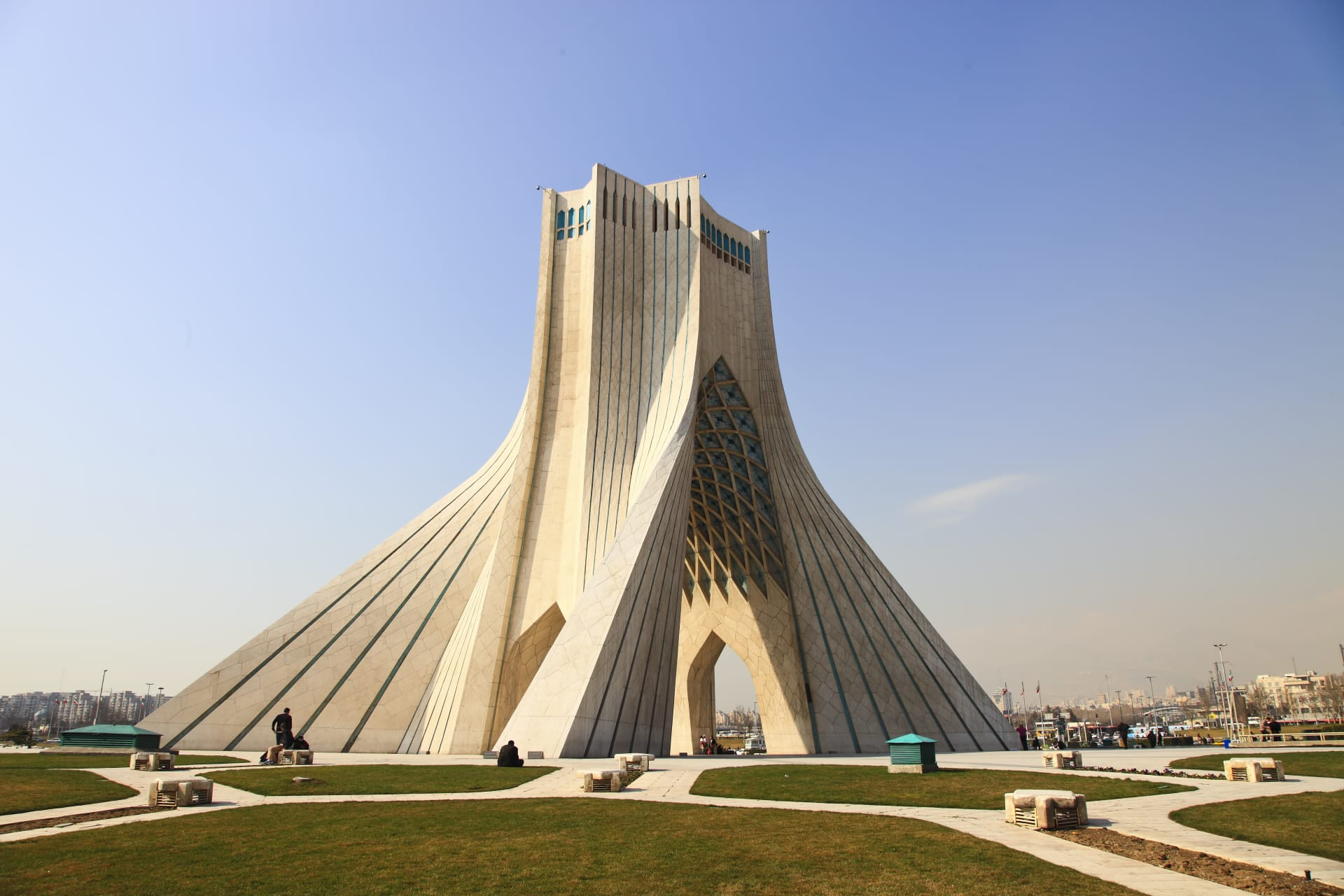 Tehran - Symbol of Tehran; Azadi Tower