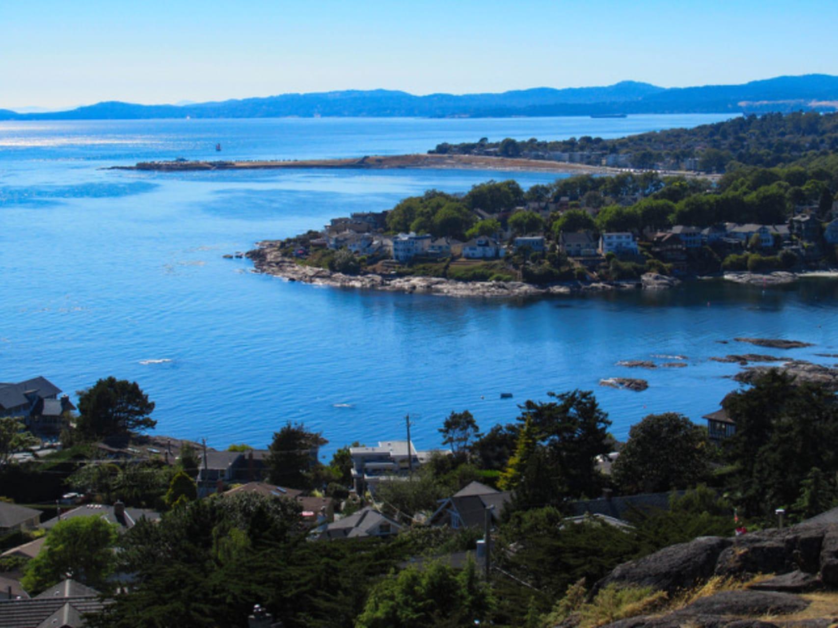 Victoria, BC - Fabulous Juan de Fuca Strait on Vancouver Island