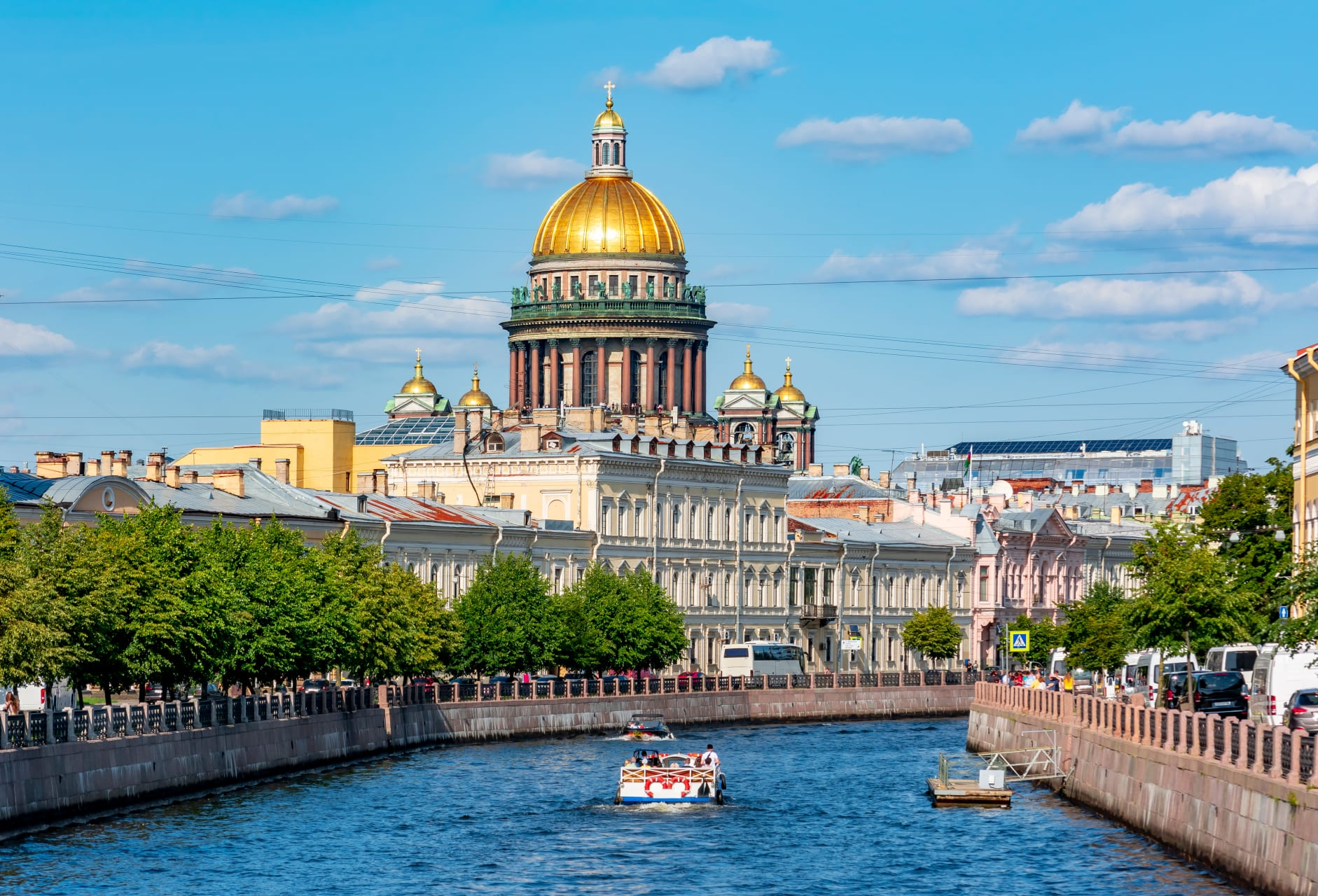 Saint Petersburg - Boat Trip Along Rivers and Canals of Saint Petersburg