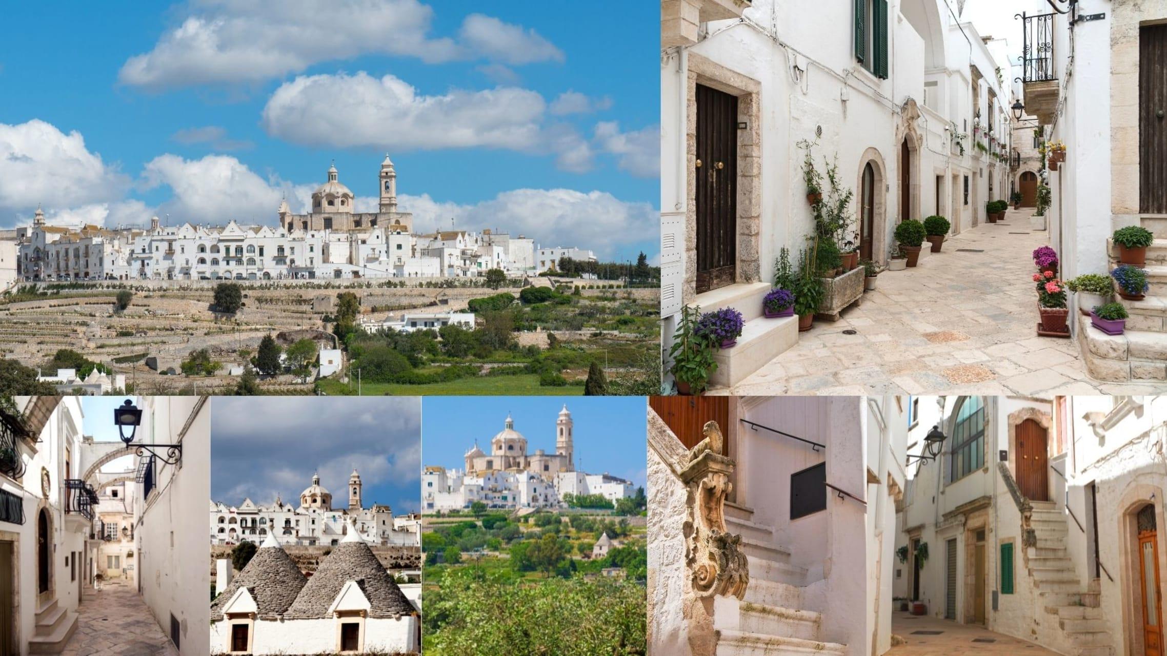 Puglia - Locorotondo: The Southern Italian, beautiful hilltop village