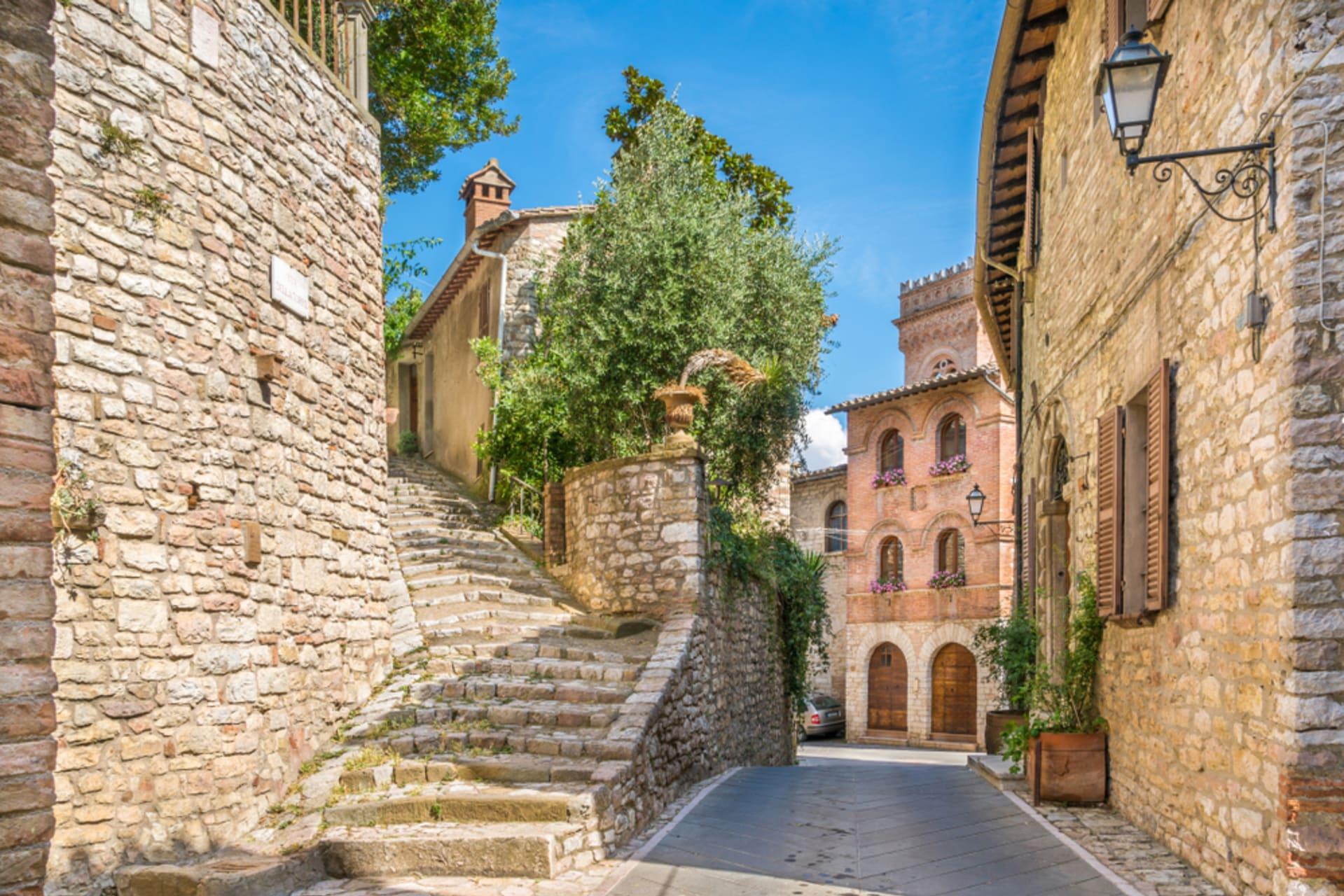 Umbria - Corciano - A Medieval Castle Village