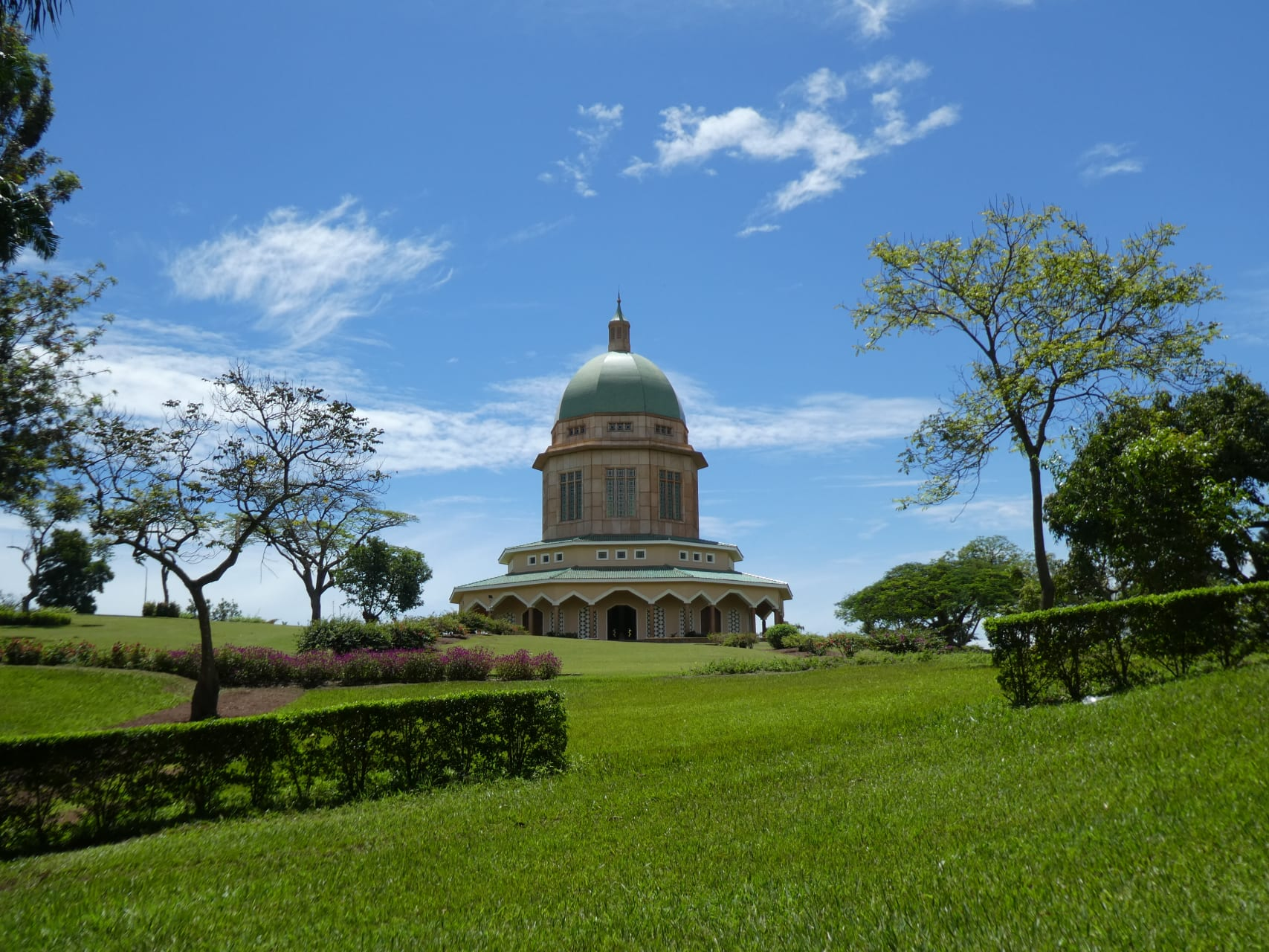 """Kampala - The Baha'i Temple: """"Mother Temple of Africa"""""""