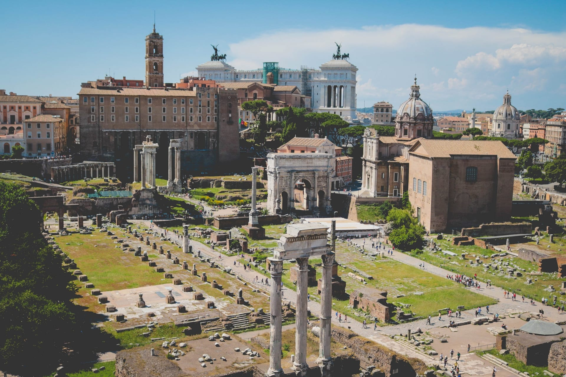Rome - Roman Forum and Palatine Hill