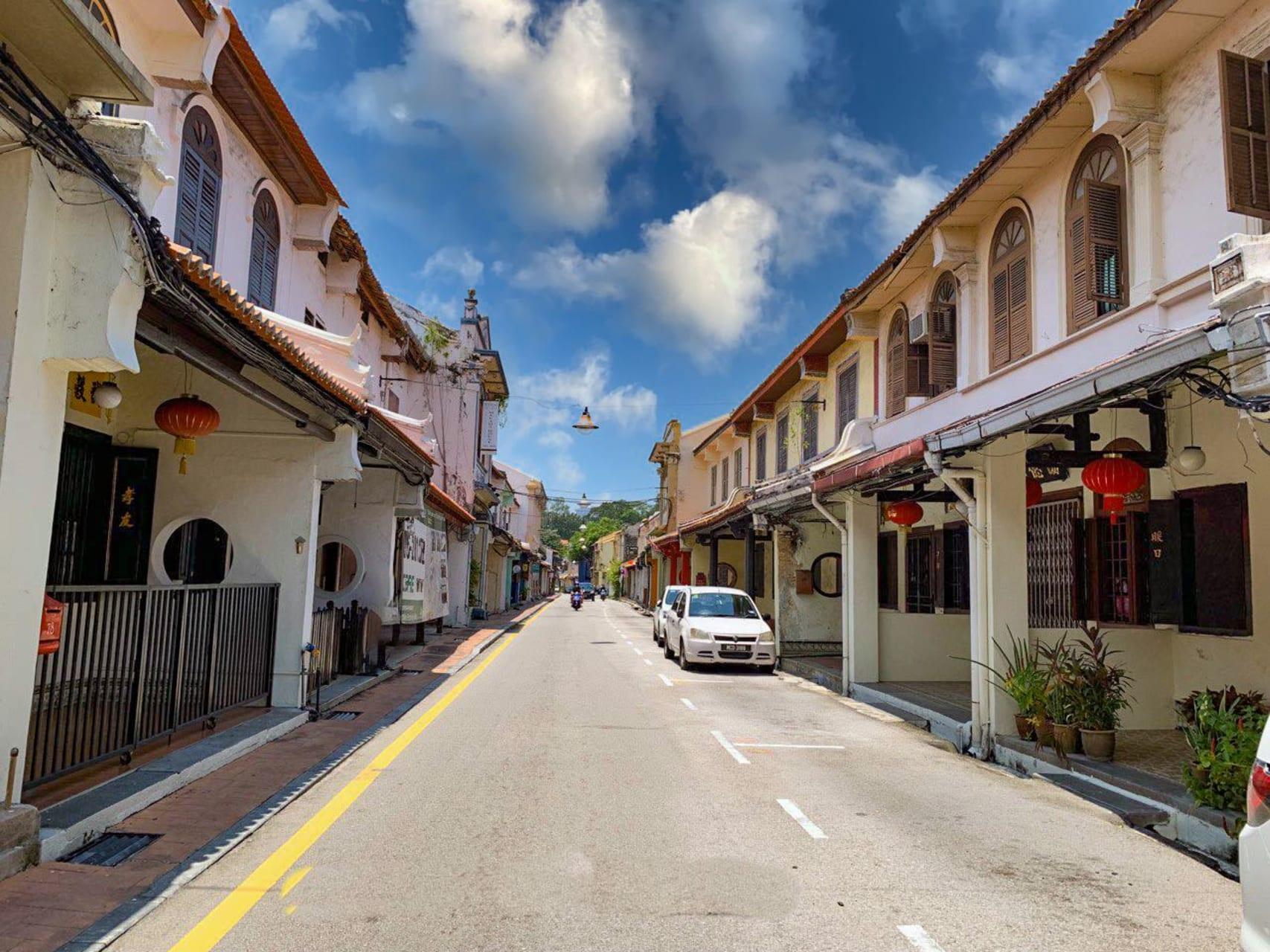 Melaka - Heeren Street - Where Millionaires Lived