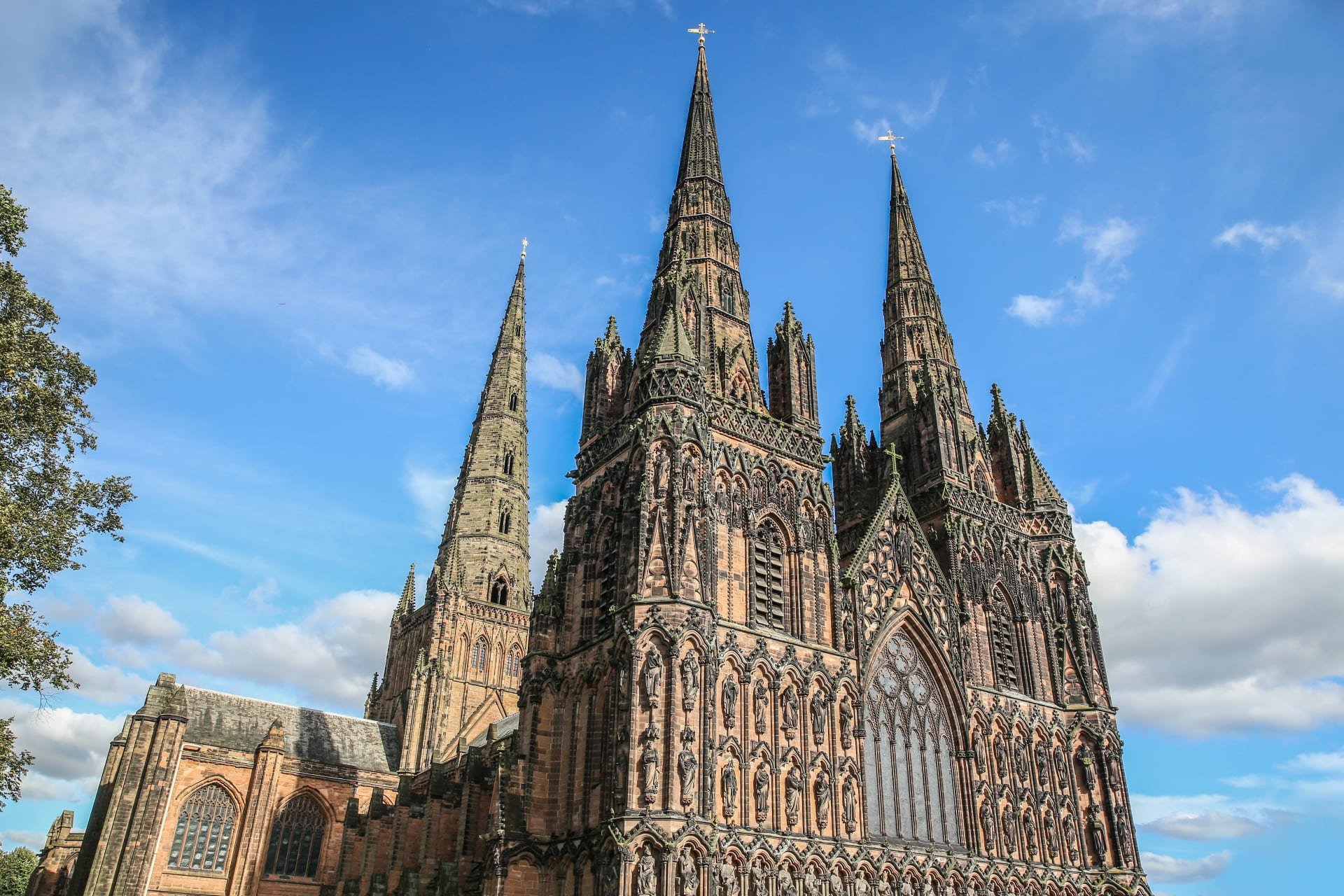 Lichfield - The Cathedral - 1300 Years of History