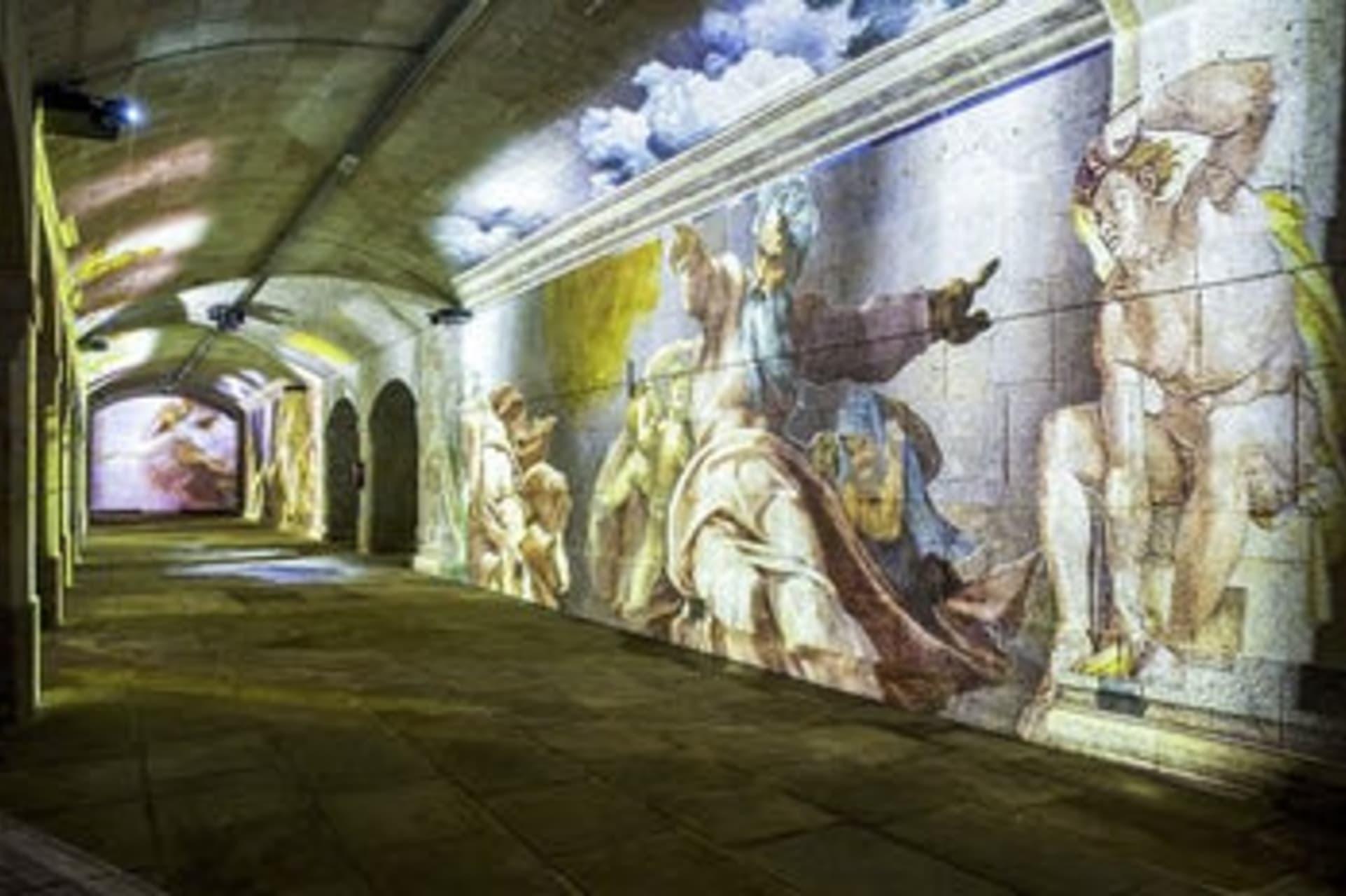 "Porto - ""Experiment"" - Michelangelo and Da Vinci 360° Digital Exhibition - Live from Home"