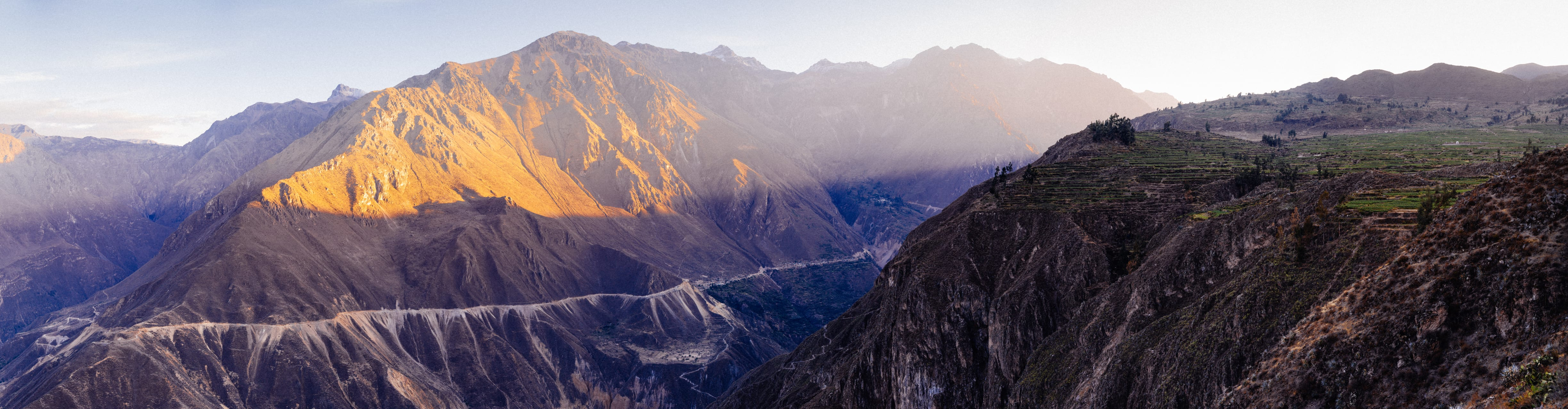 Arequipa - Beautiful Sunrises in the Colca Valley