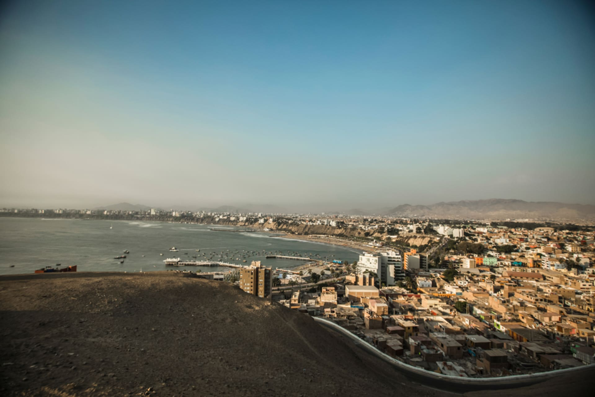Lima - Chorrillos: The best viewpoint of Lima