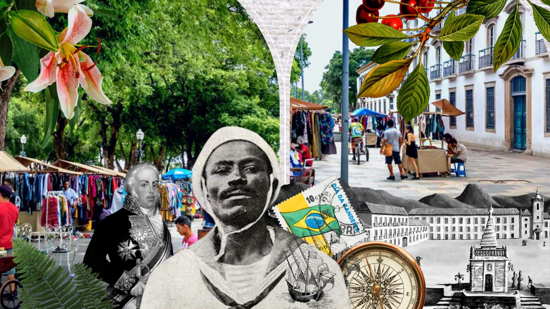 Rio de Janeiro - Antiquing at the XV Square Market: The runaway royal family