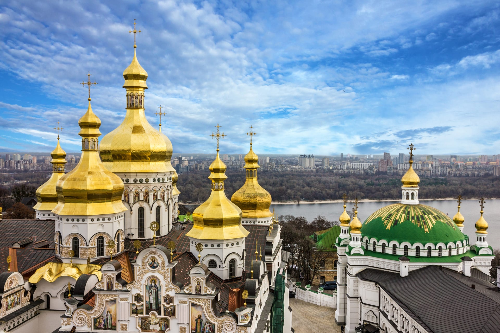 Kyiv - Special Edition: Celebration of Orthodox Easter in Kyiv-Pechersk Lavra.