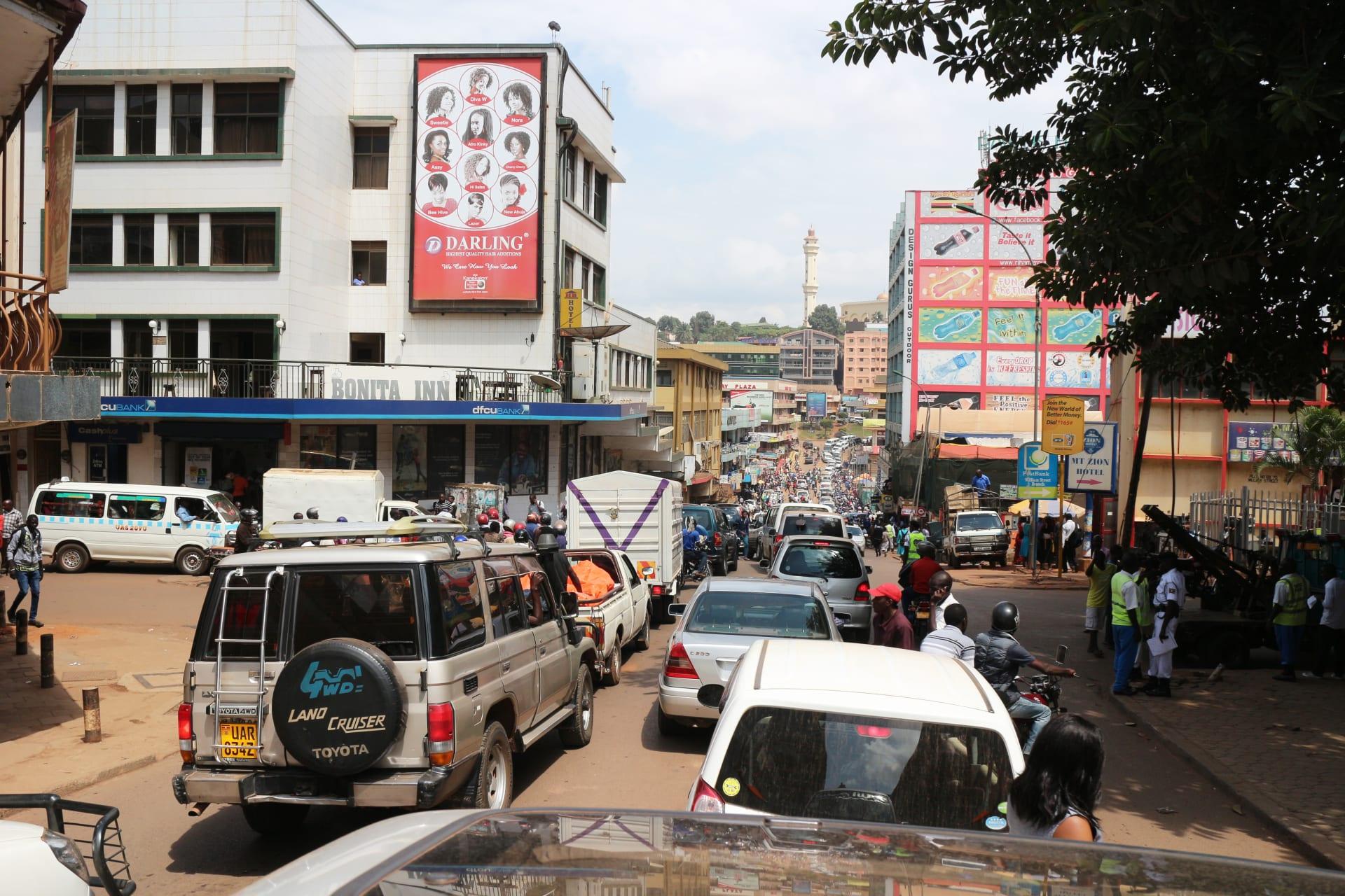 Kampala - Walking down the busy streets of Kampala (Sign Language Tour)