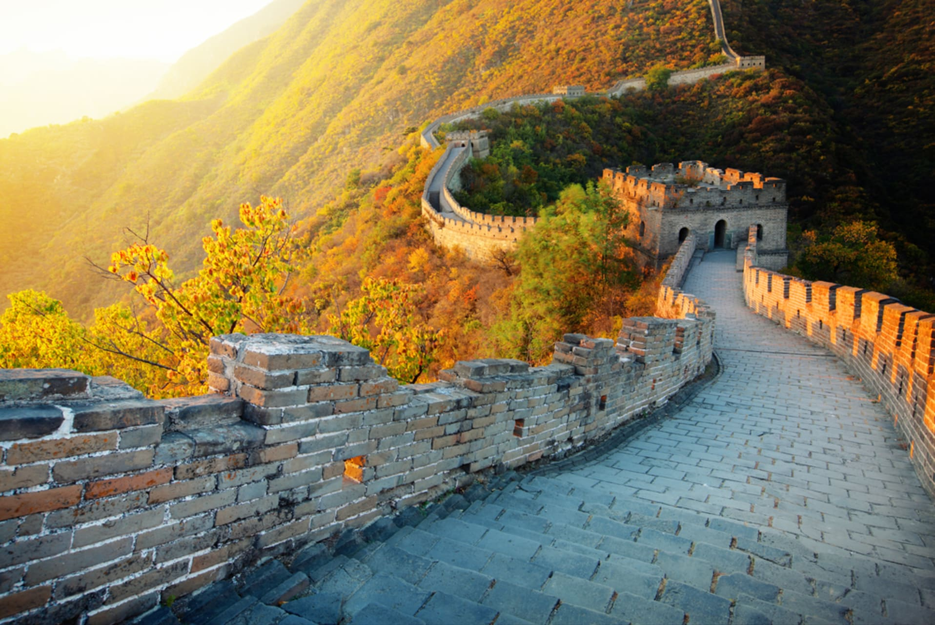 Beijing - Mutianyu China Great Wall: Part 1 (The Western part with Cable Car)