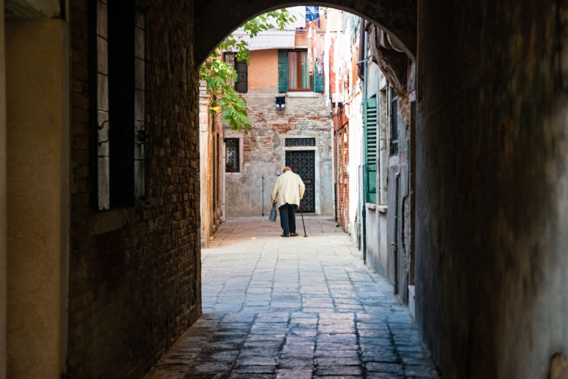 Venice - Venice Castello district -  the untouched Venice