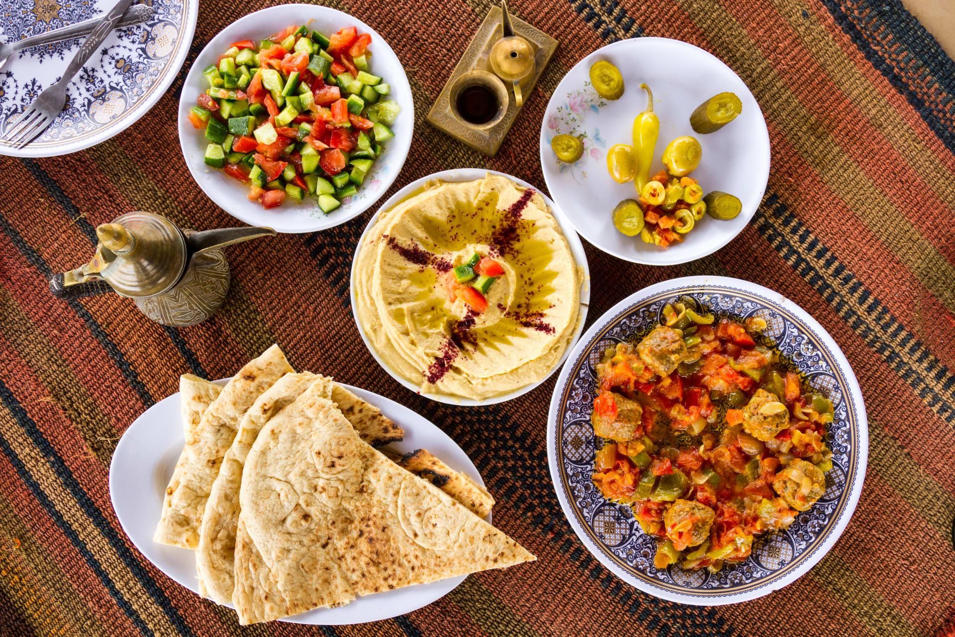 Amman - Jordanian, Palestinian & Arabic Food Cooking Class