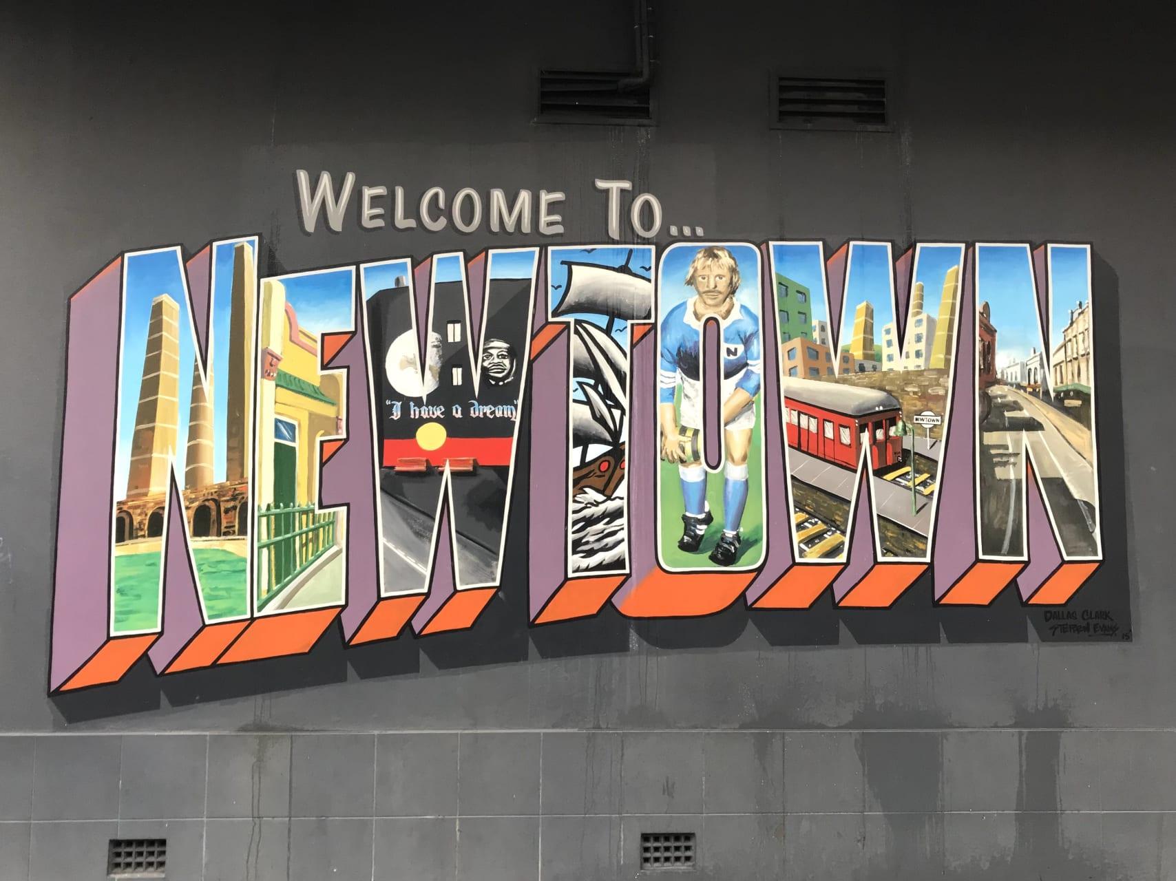 Sydney - Sydney Street Art – South Newtown Route