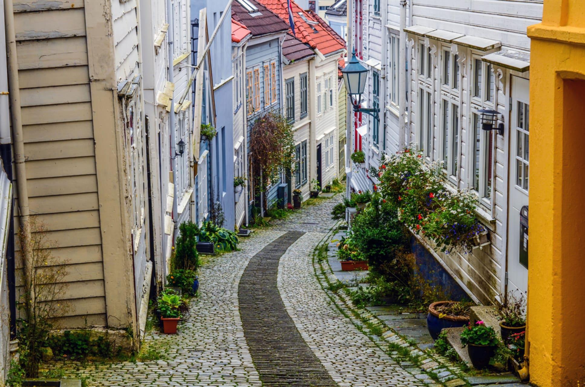 Bergen - Bergen: Unique Walks Through Norway's Prettiest City