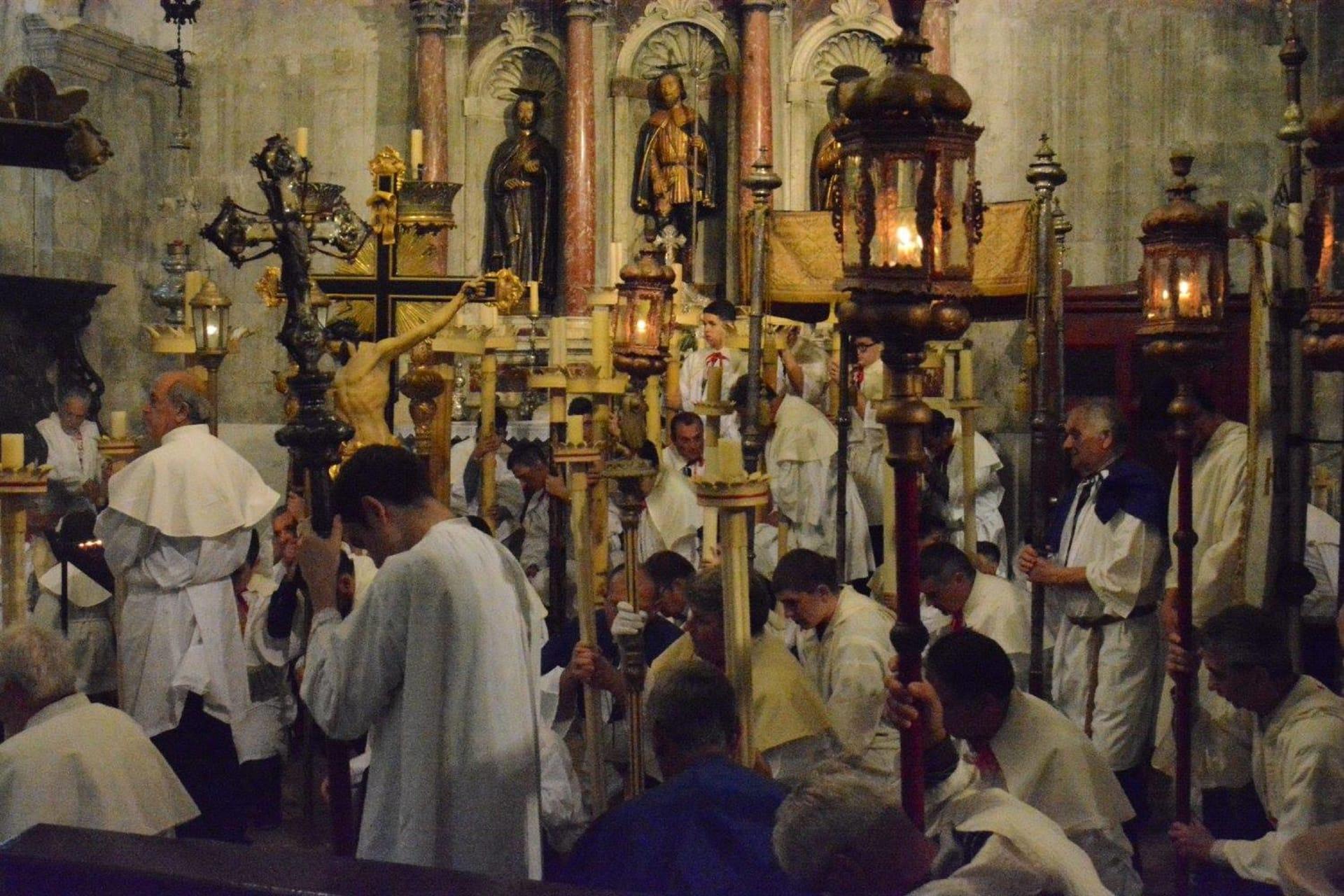 Korcula - Procession Corpus Christi Day