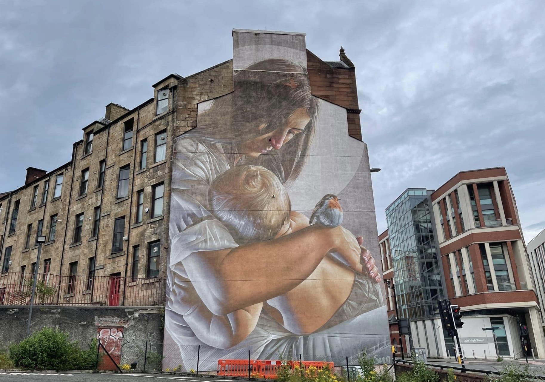 Glasgow - Street Art: The Glasgow Mural Trail part 1