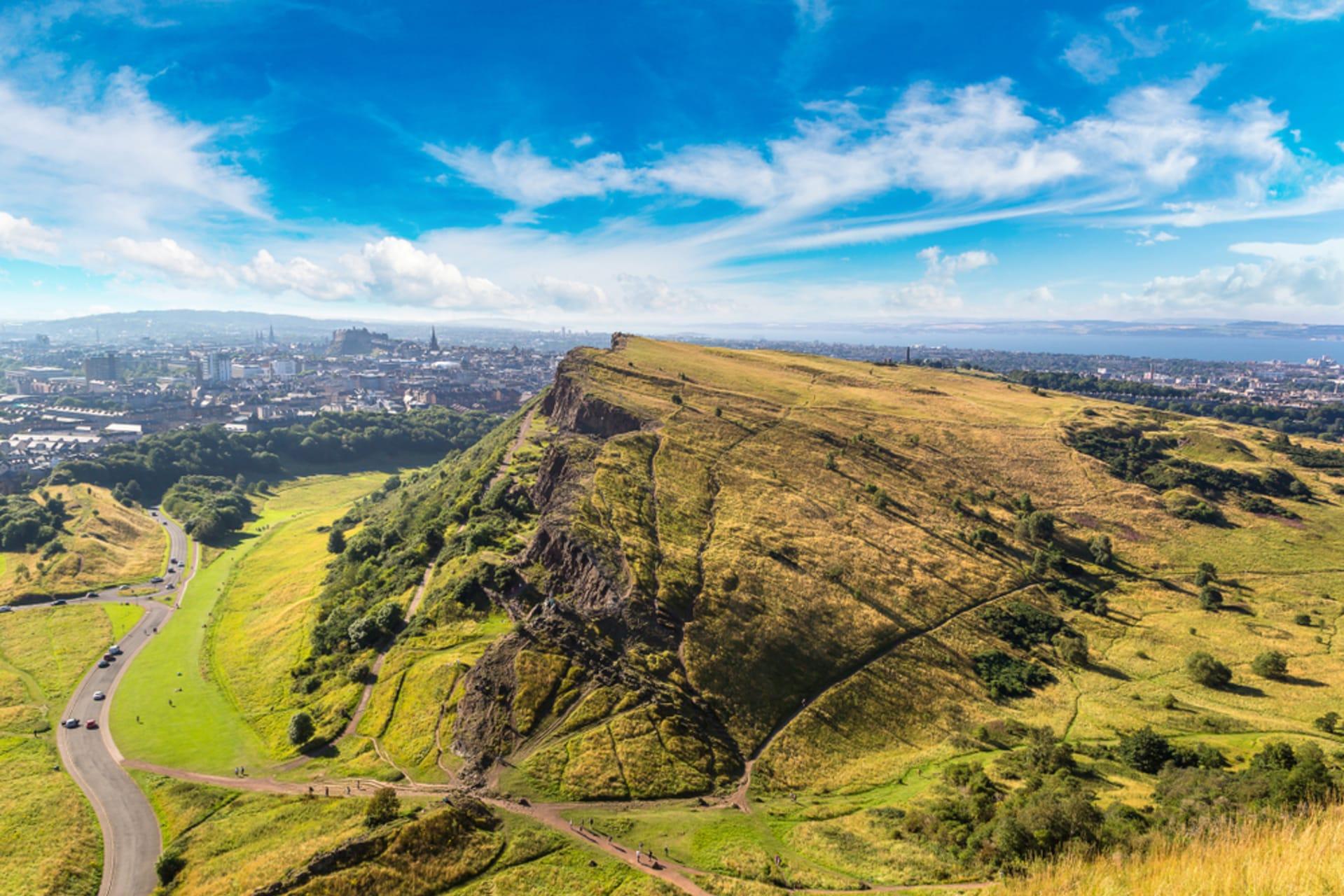 Edinburgh - Edinburgh's Two Volcanoes