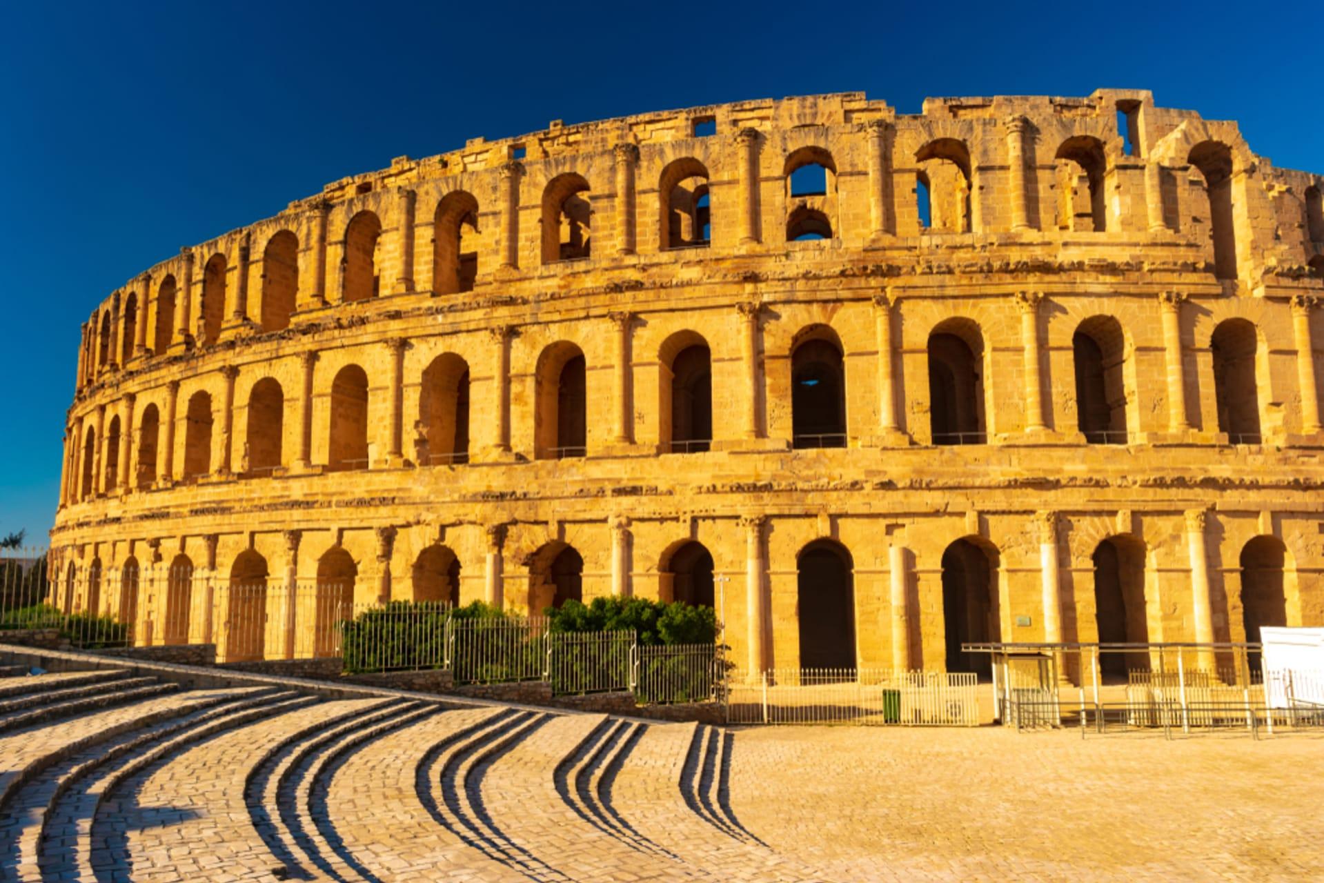 El Jem - The Amphitheatre of El Jem
