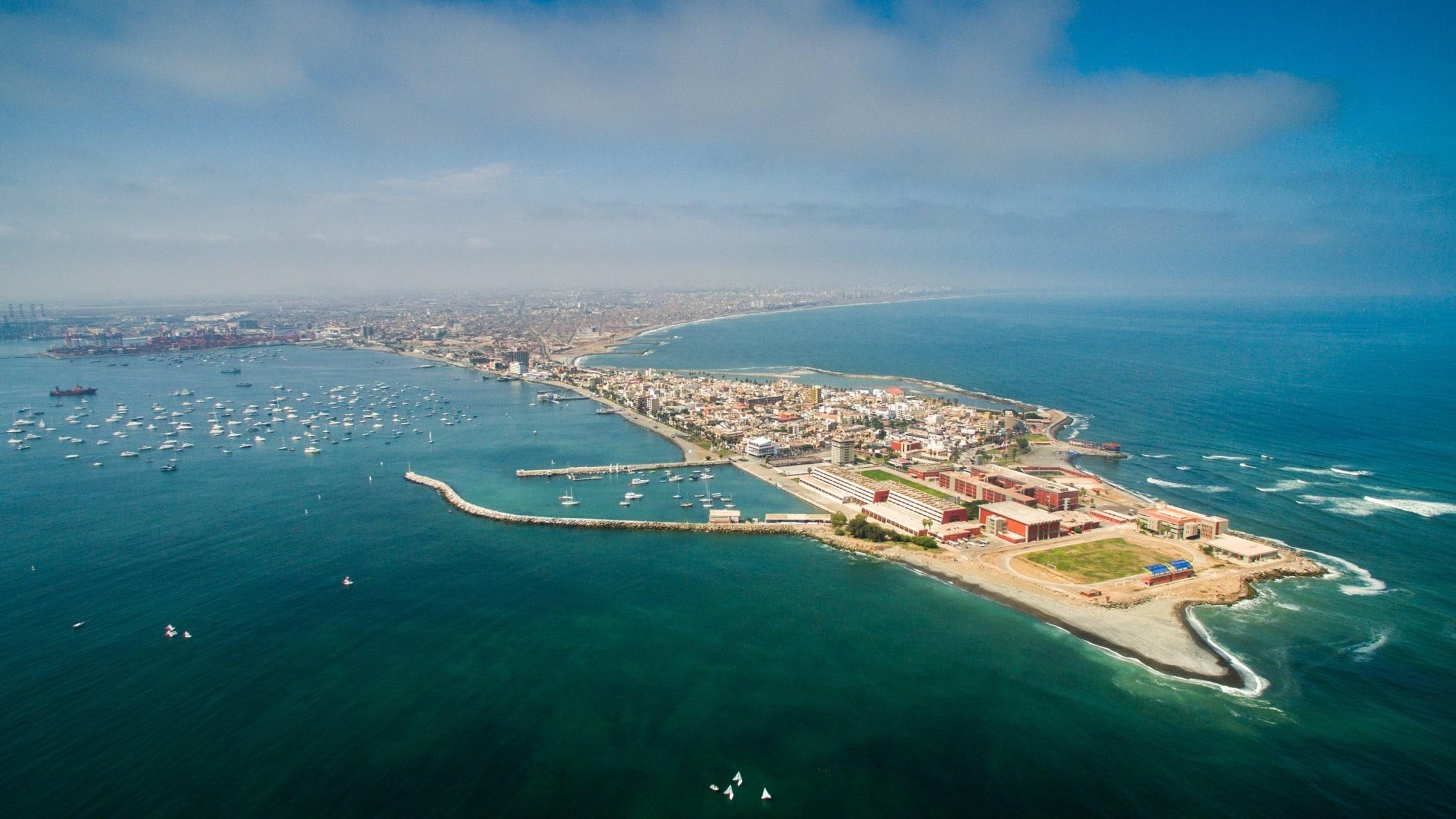 Callao - Callao, the Main Port of Perú: From Real Felipe Colonial Fortress to La Punta Beach