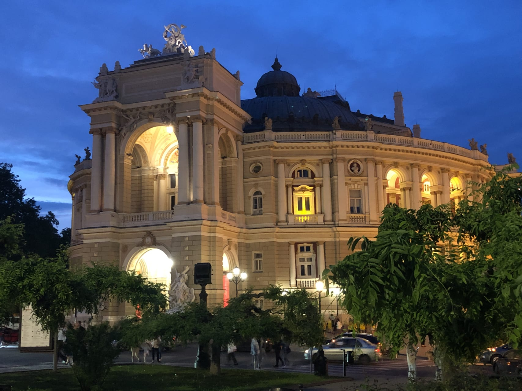 Odessa - One-time Event! Odessa After Dark and Classical Music Concert on the Potemkin Steps
