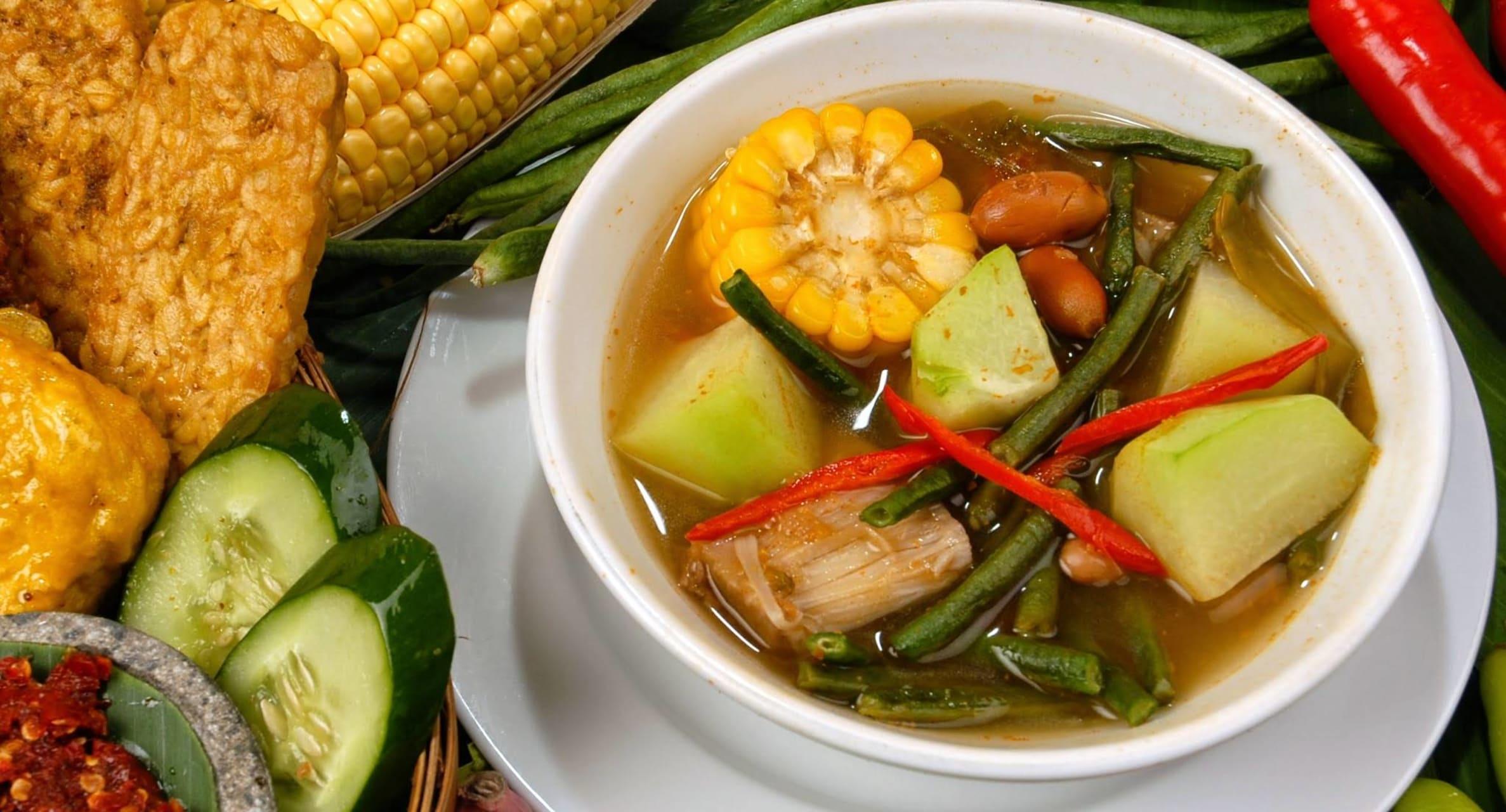 Yogyakarta - Home Cooking: Sayur Asem - Vegetables in Tamarind Soup