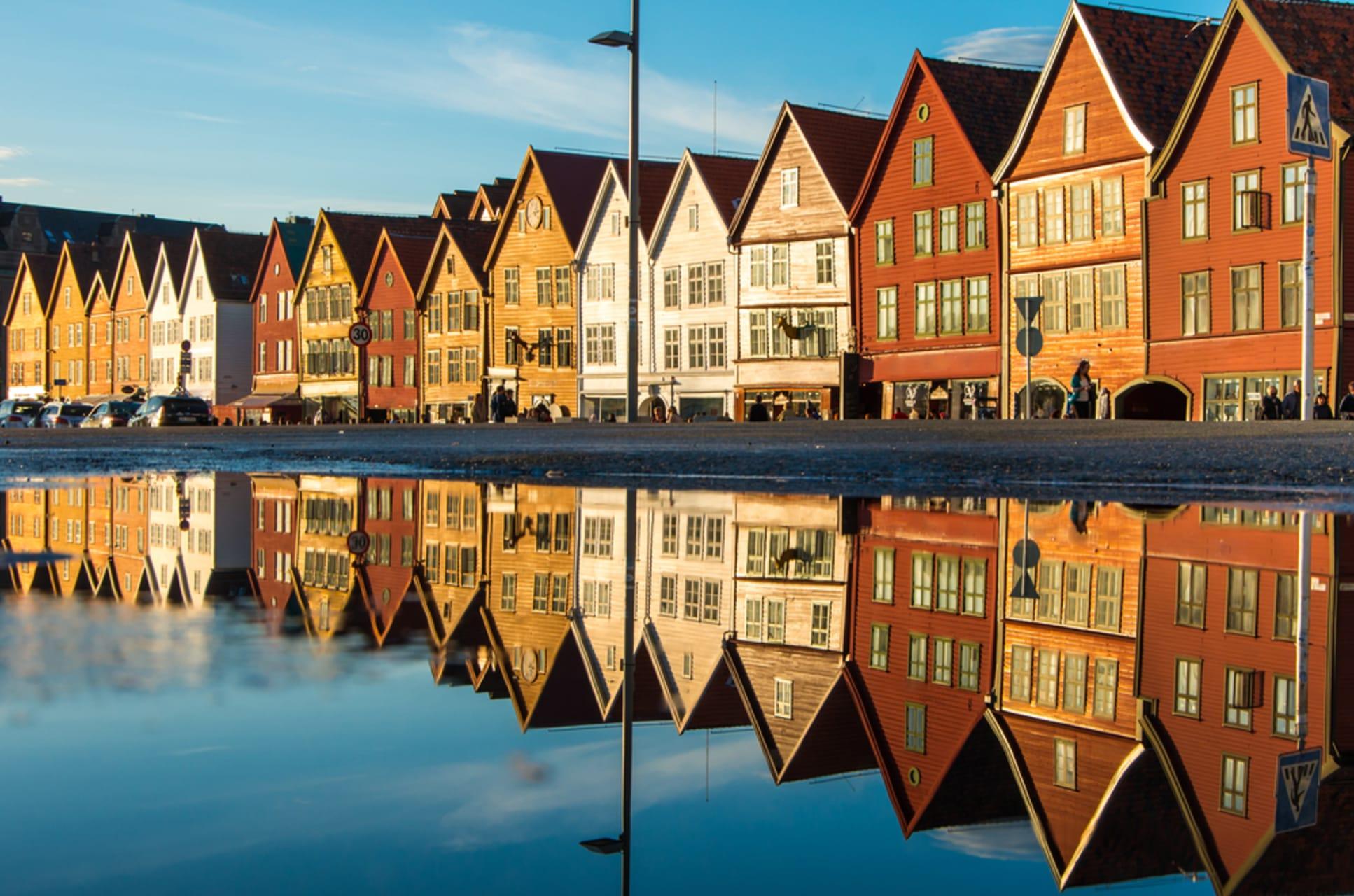 Bergen - Explore Bergen's UNESCO World Heritage site 'Bryggen' on this walk through medieval times