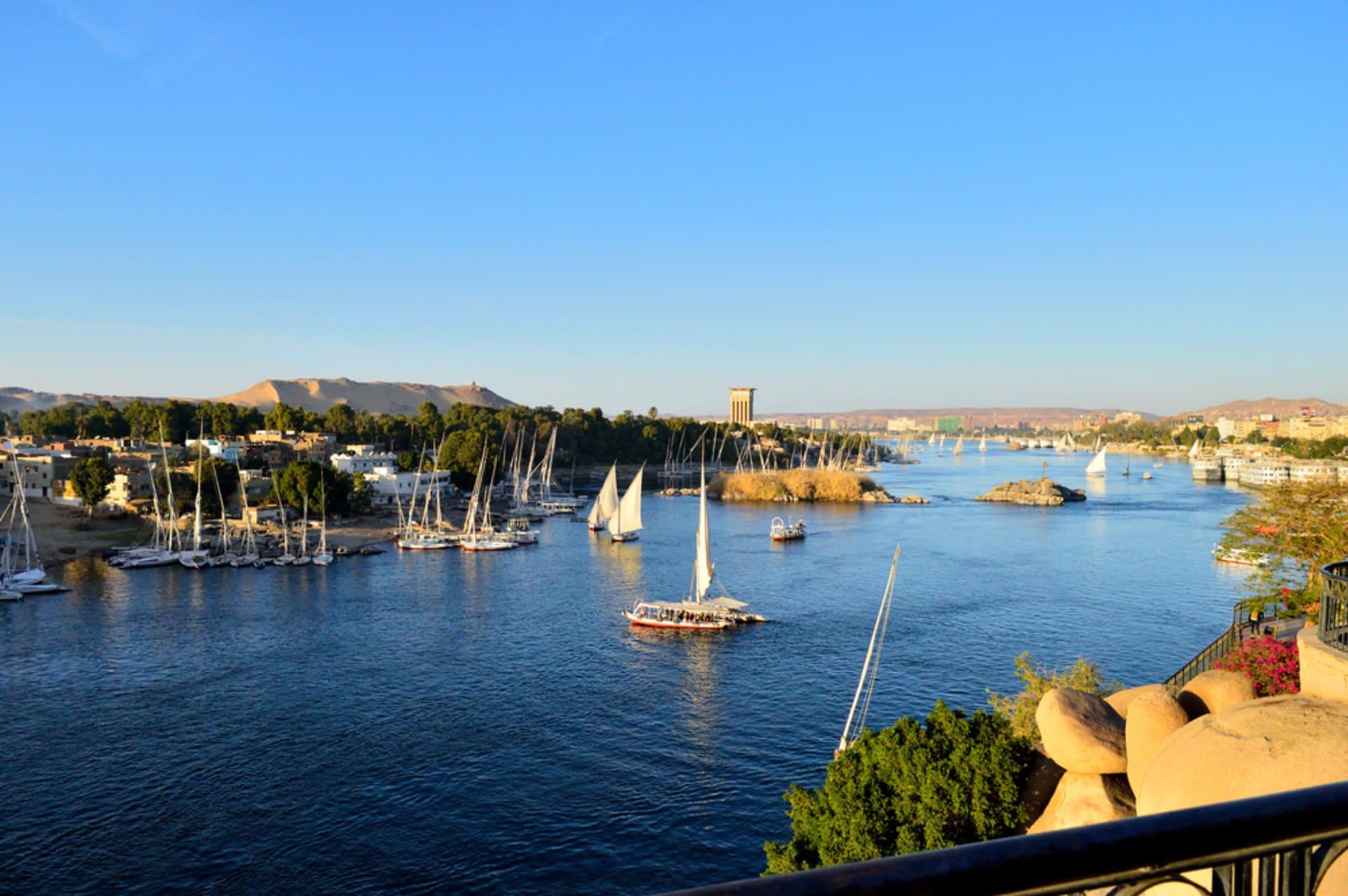 Aswan - Sailing The Nile