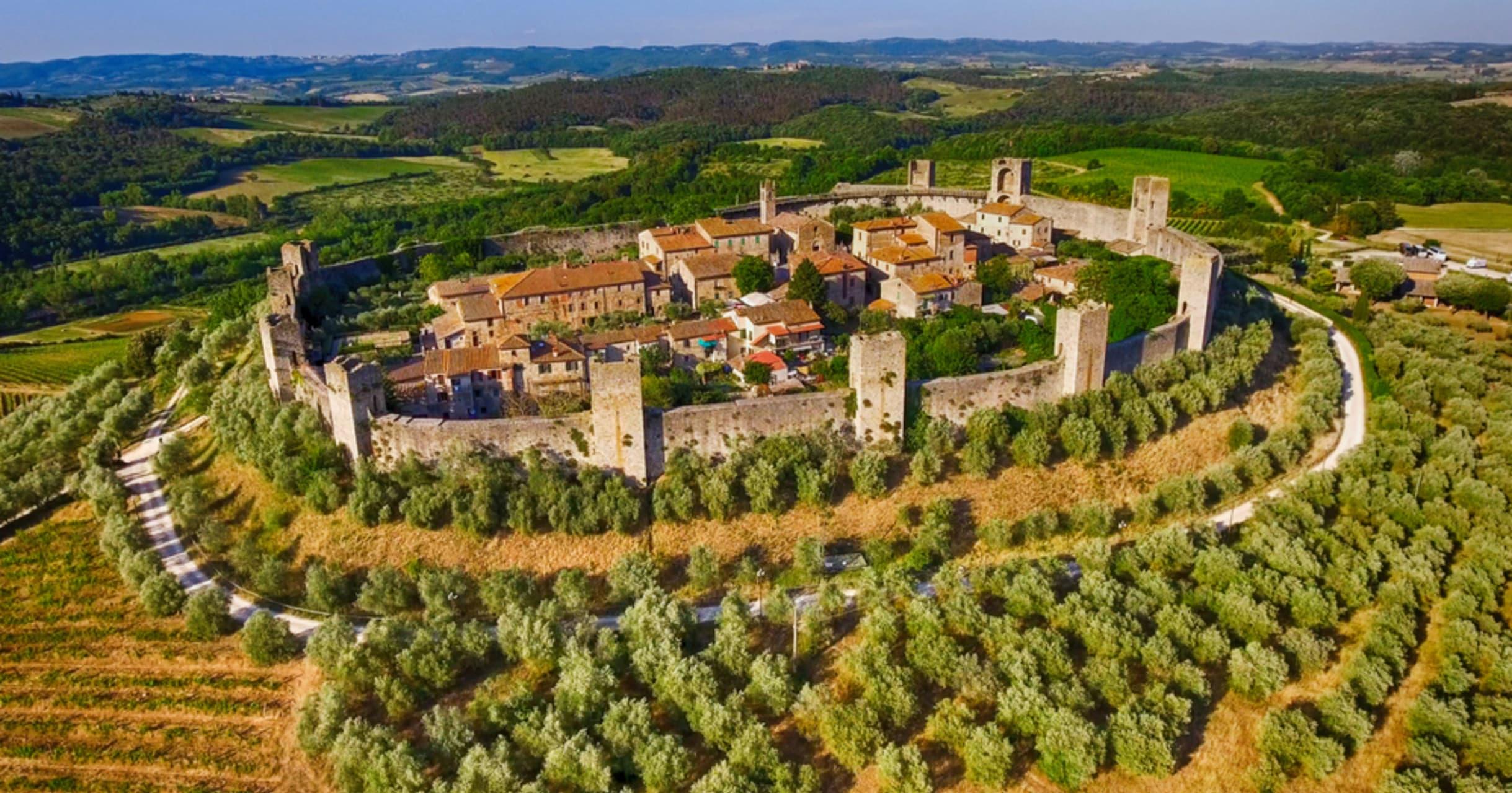 Tuscany - On the pilgrims path