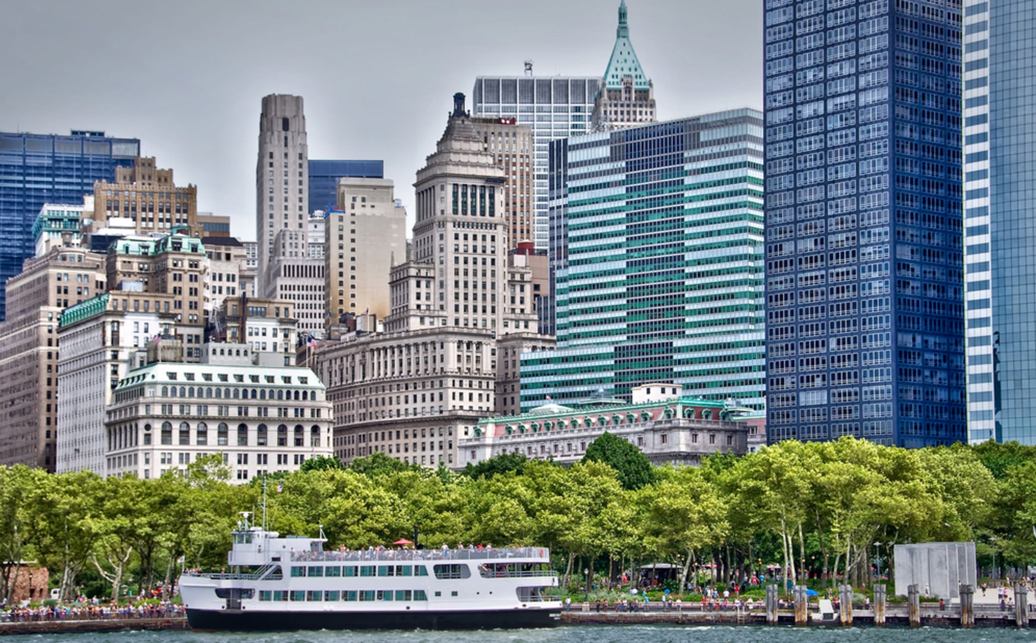 New York - The Battery and Castle Clinton