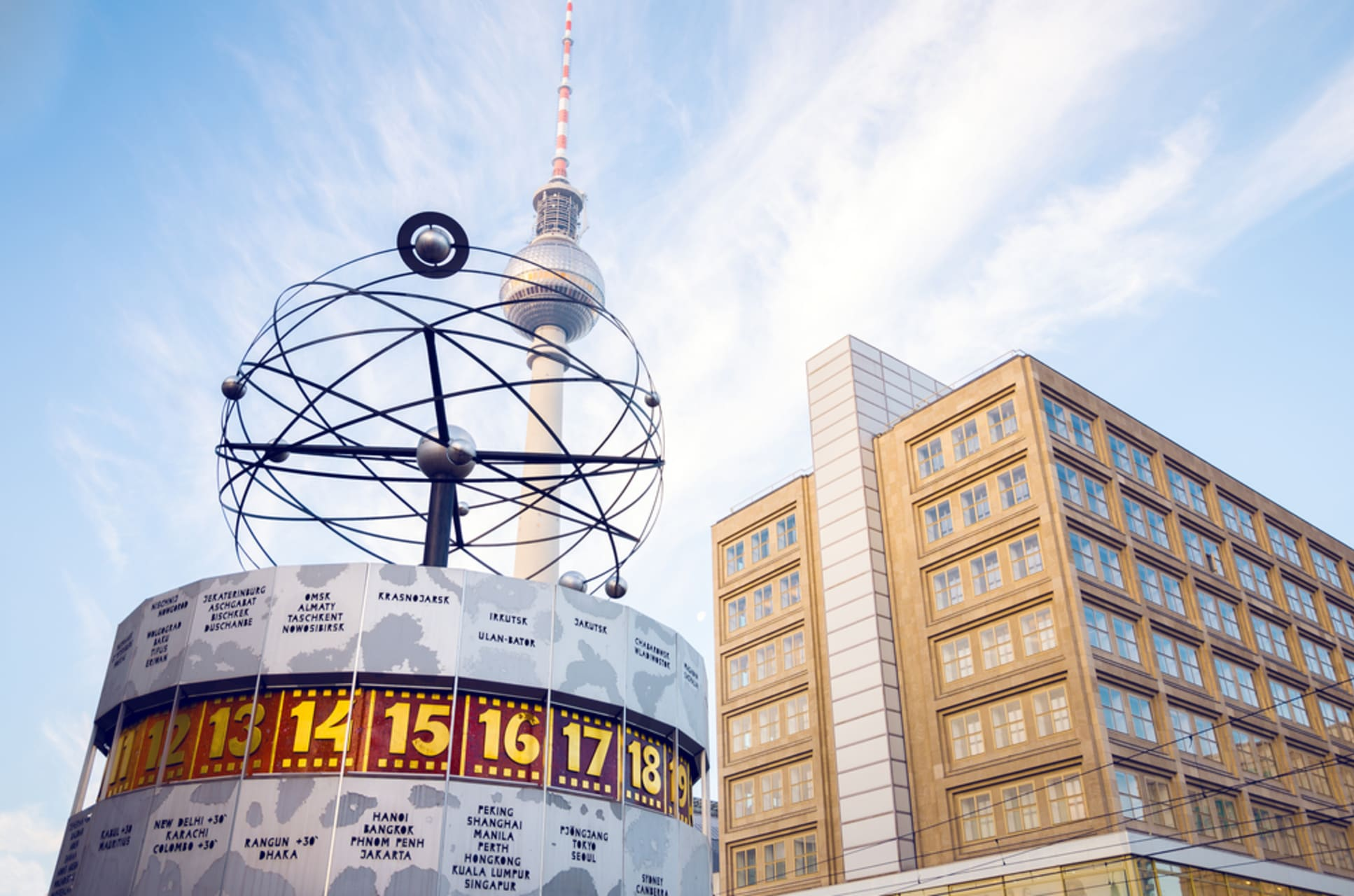 Berlin - Alexanderplatz – Old and New City Centre