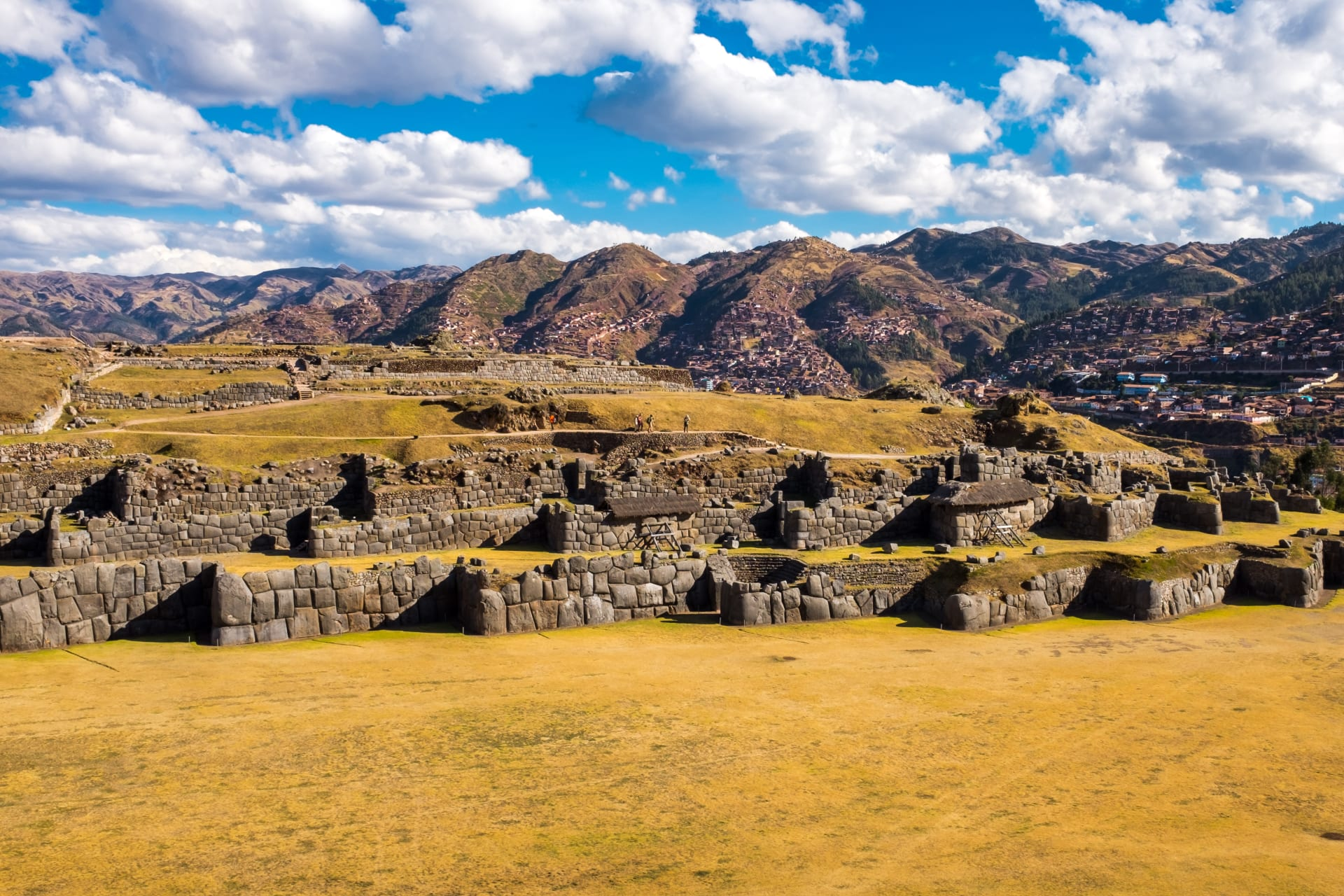 Cusco - Sacsayhuaman Megalithic Construction