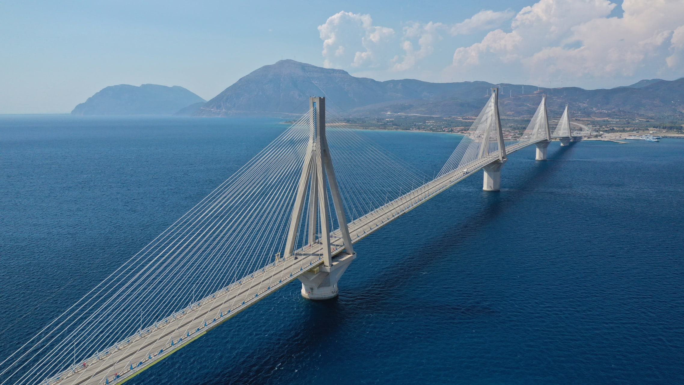 Patra - A Marvel of Engineering - the Rion-Antirion Bridge