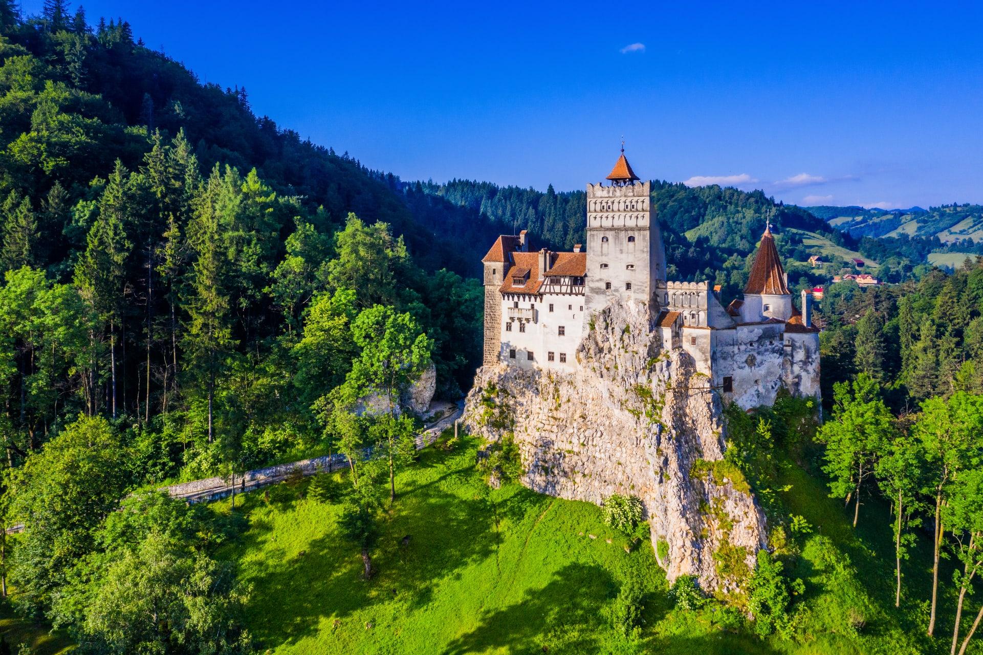 Transylvania - Haunted by Dracula - the Bran Castle