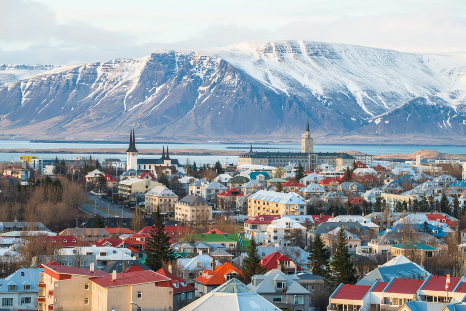 Reykjavik - Old town walk - Past and Present