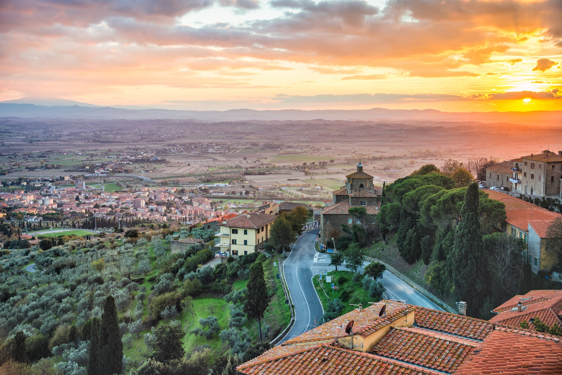 Tuscany - Cortona - Under the Tuscan Sun