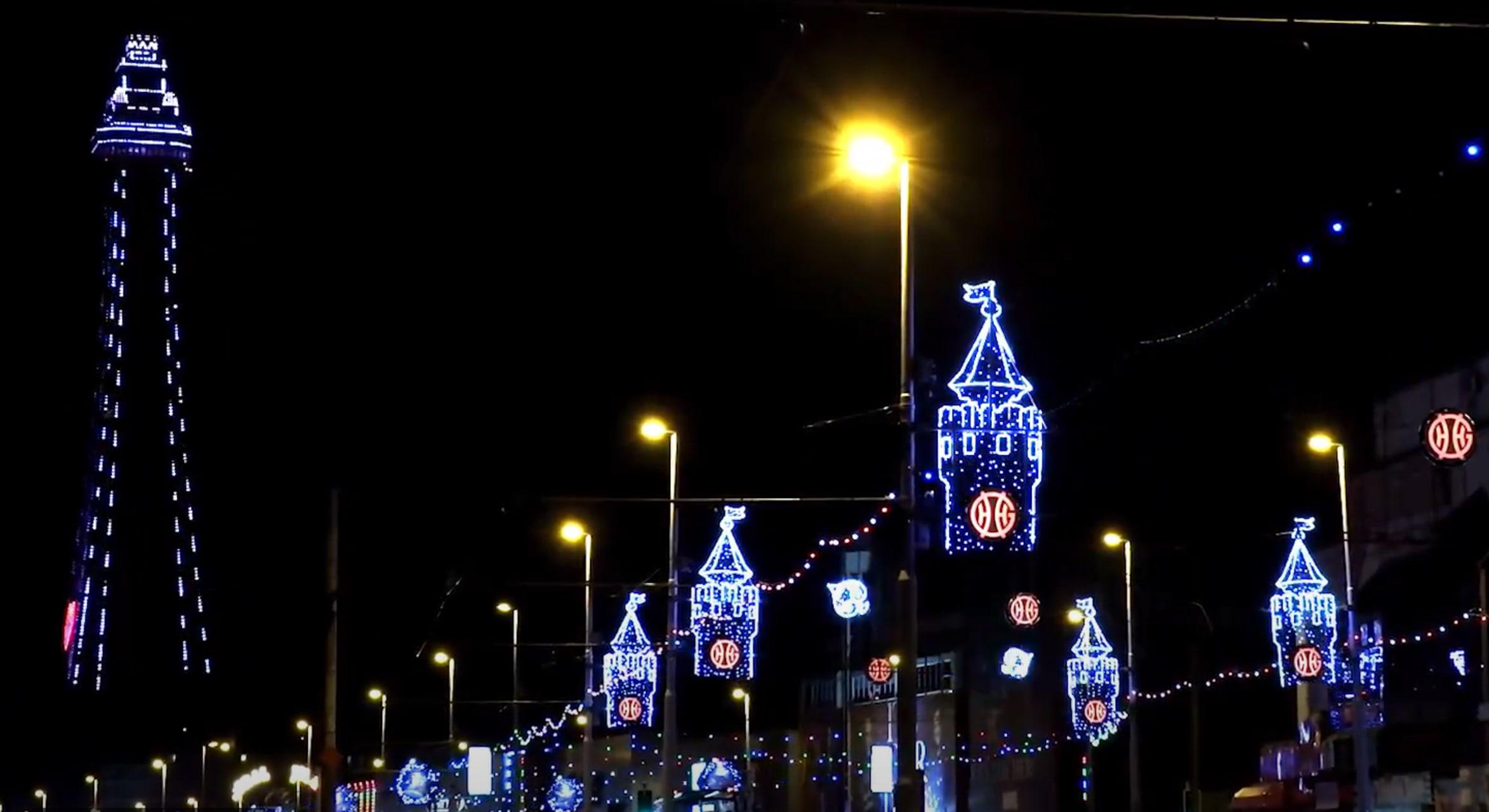 Blackpool - A Walk Through the Lights - Experience the Magic of Blackpool Illuminations