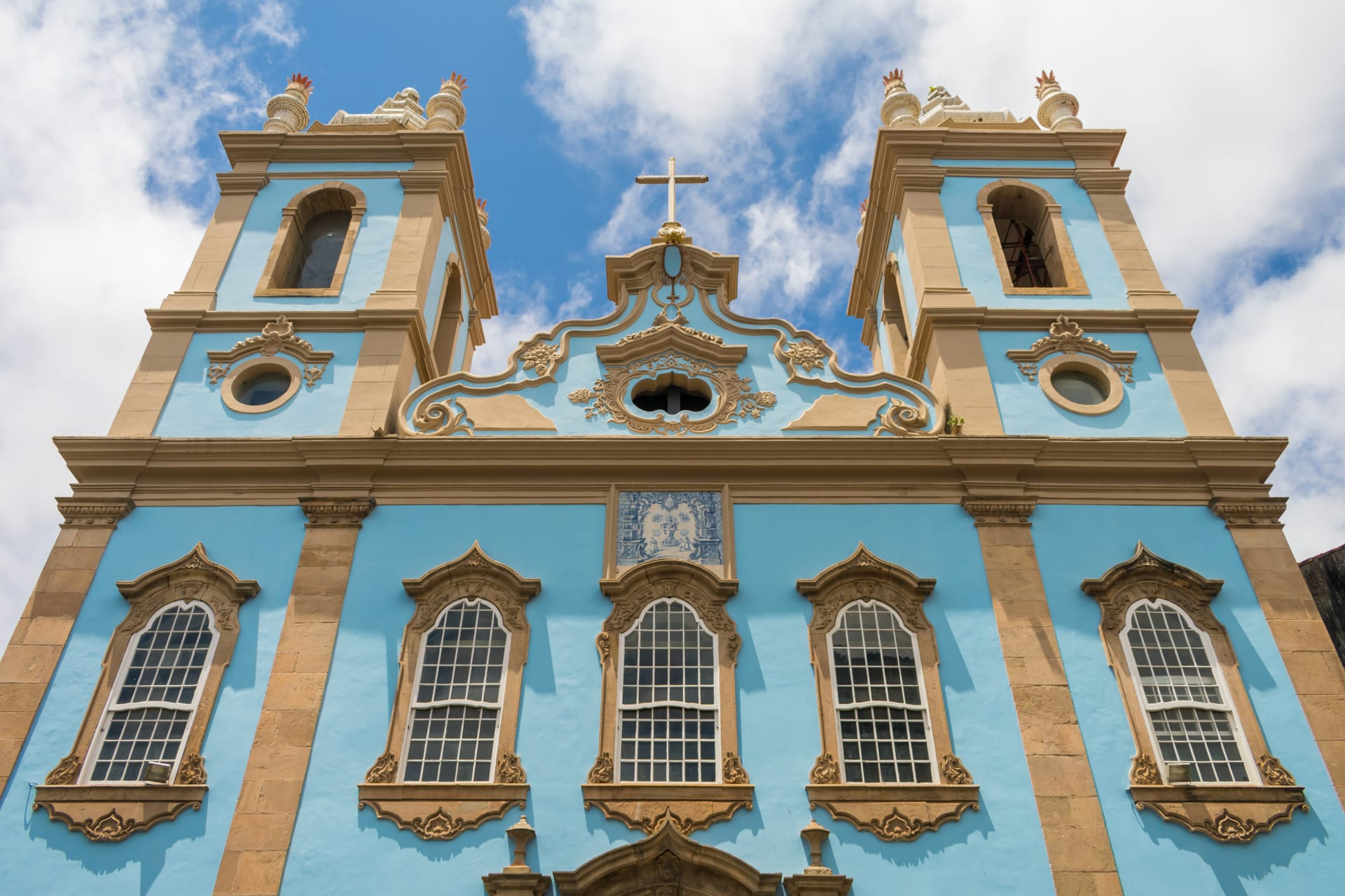 Salvador Bahia - Salvador 4: Church of Our Lady of the Rosary of the Black People and the Blessing Tuesdays in Bahia