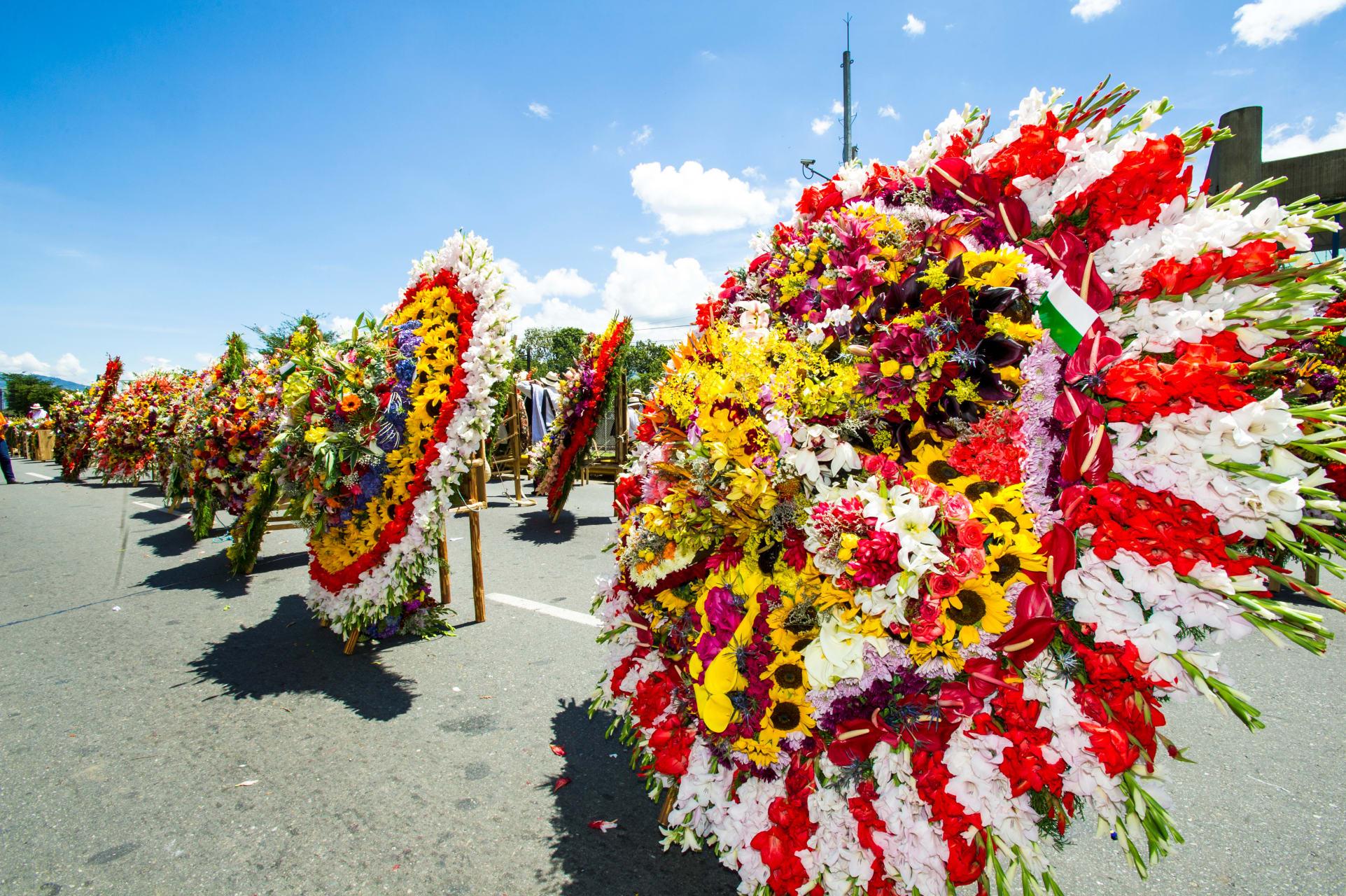 Medellín - Colombian Flower Festival in Medellin