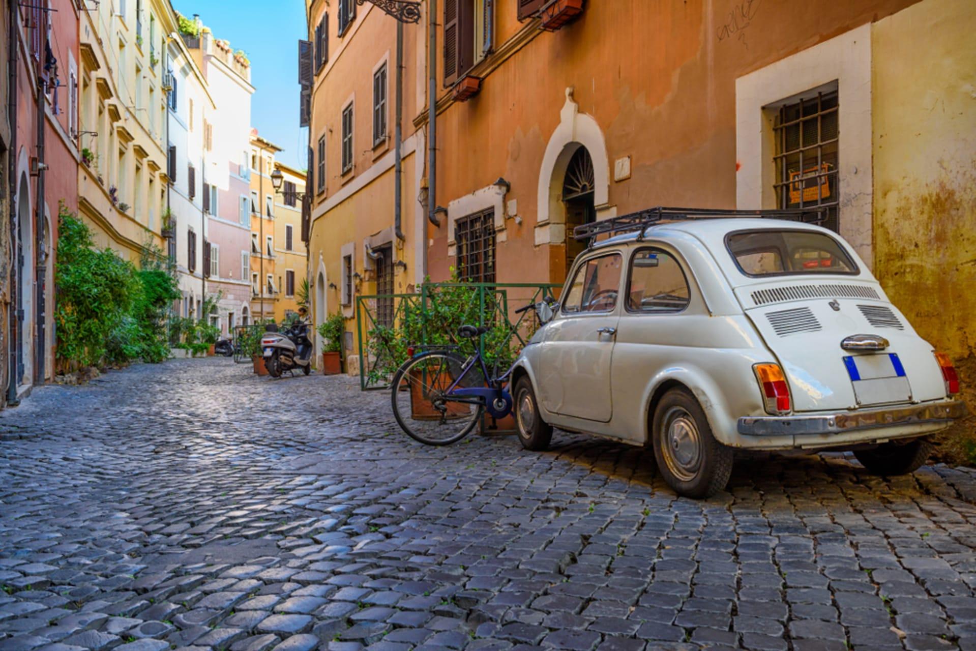 Rome - Campo de Fiori and Trastevere
