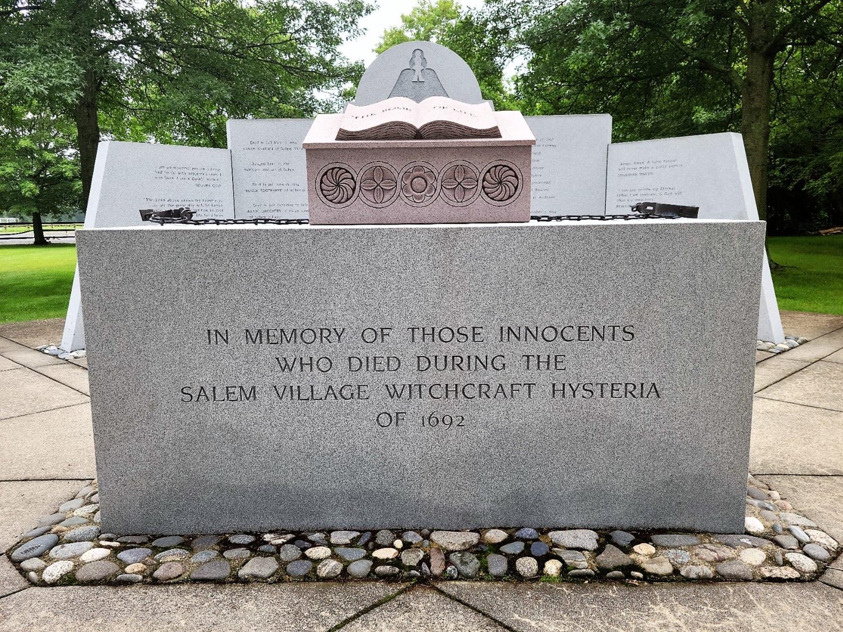 Salem Massachusetts - Olde Salem Village and the Salem Witch Trials